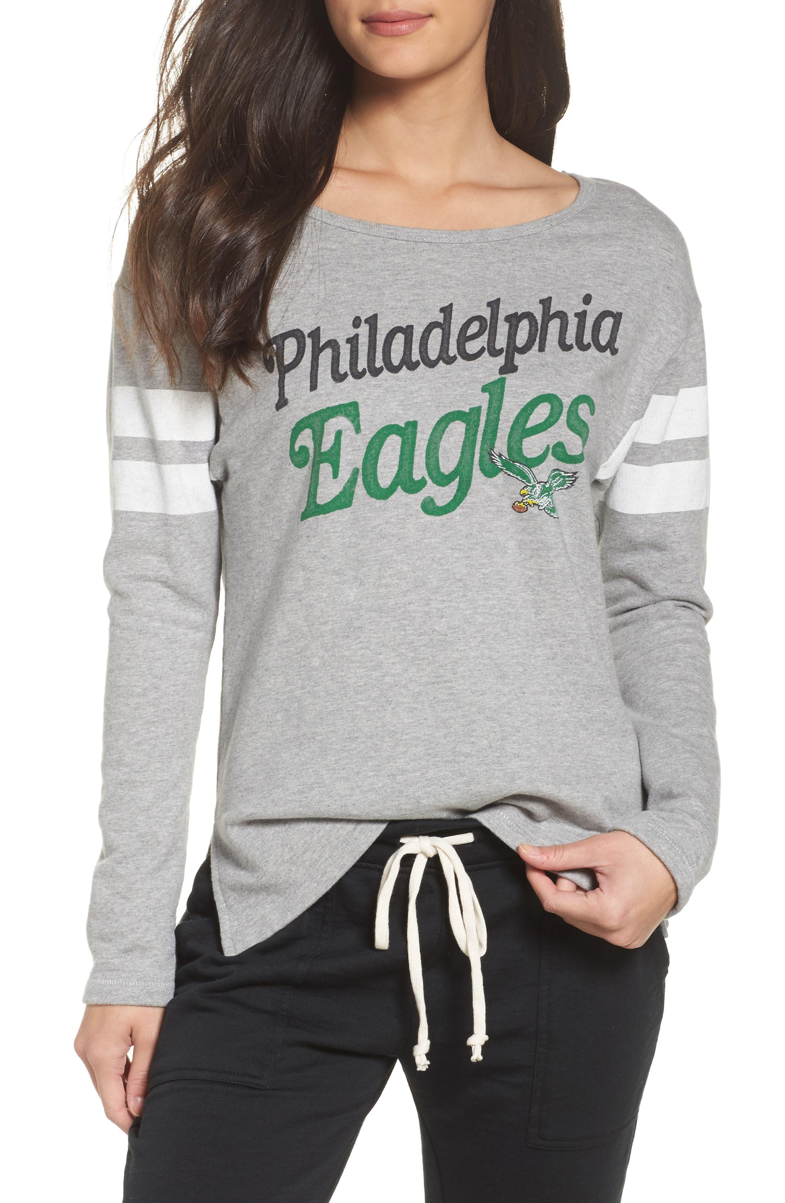 NFL Philadelphia Eagles Champion Sweatshirt,                             Main thumbnail 1, color,                             028