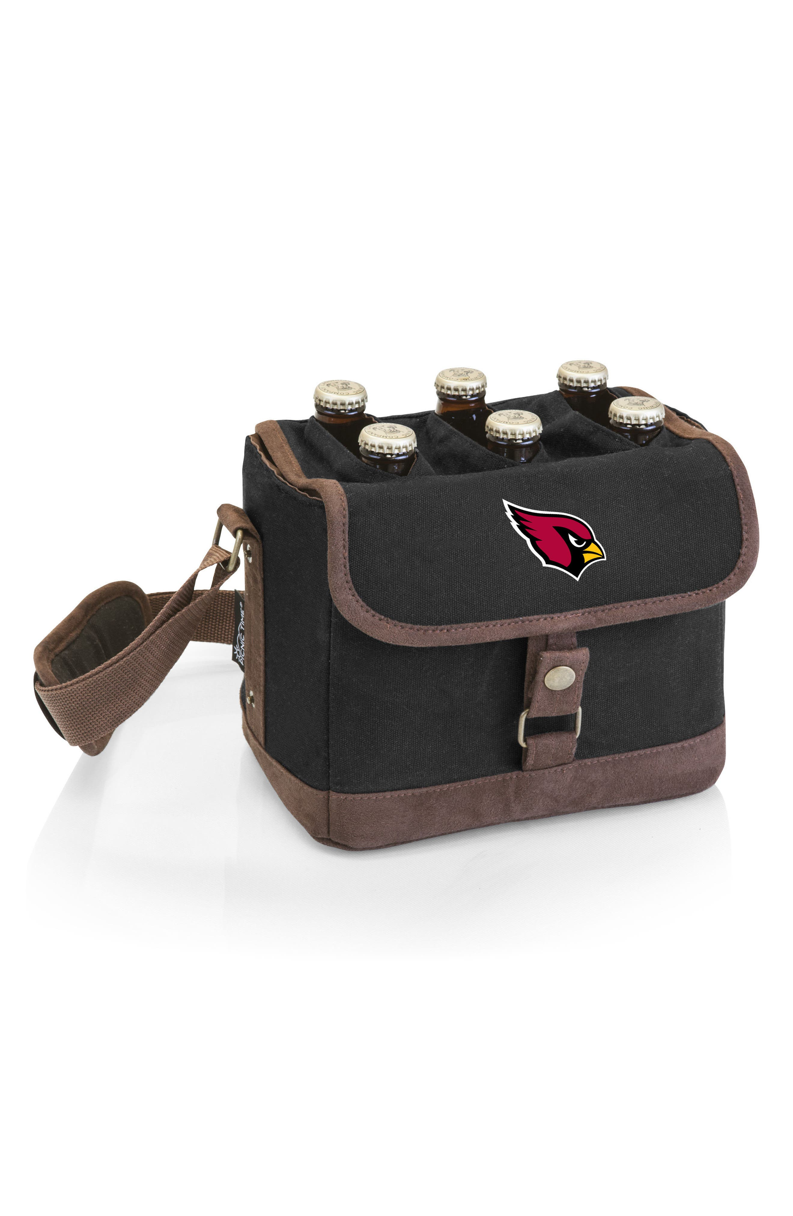 PICNIC TIME,                             NFL Team Logo Beer Caddy Cooler Tote,                             Main thumbnail 1, color,                             001