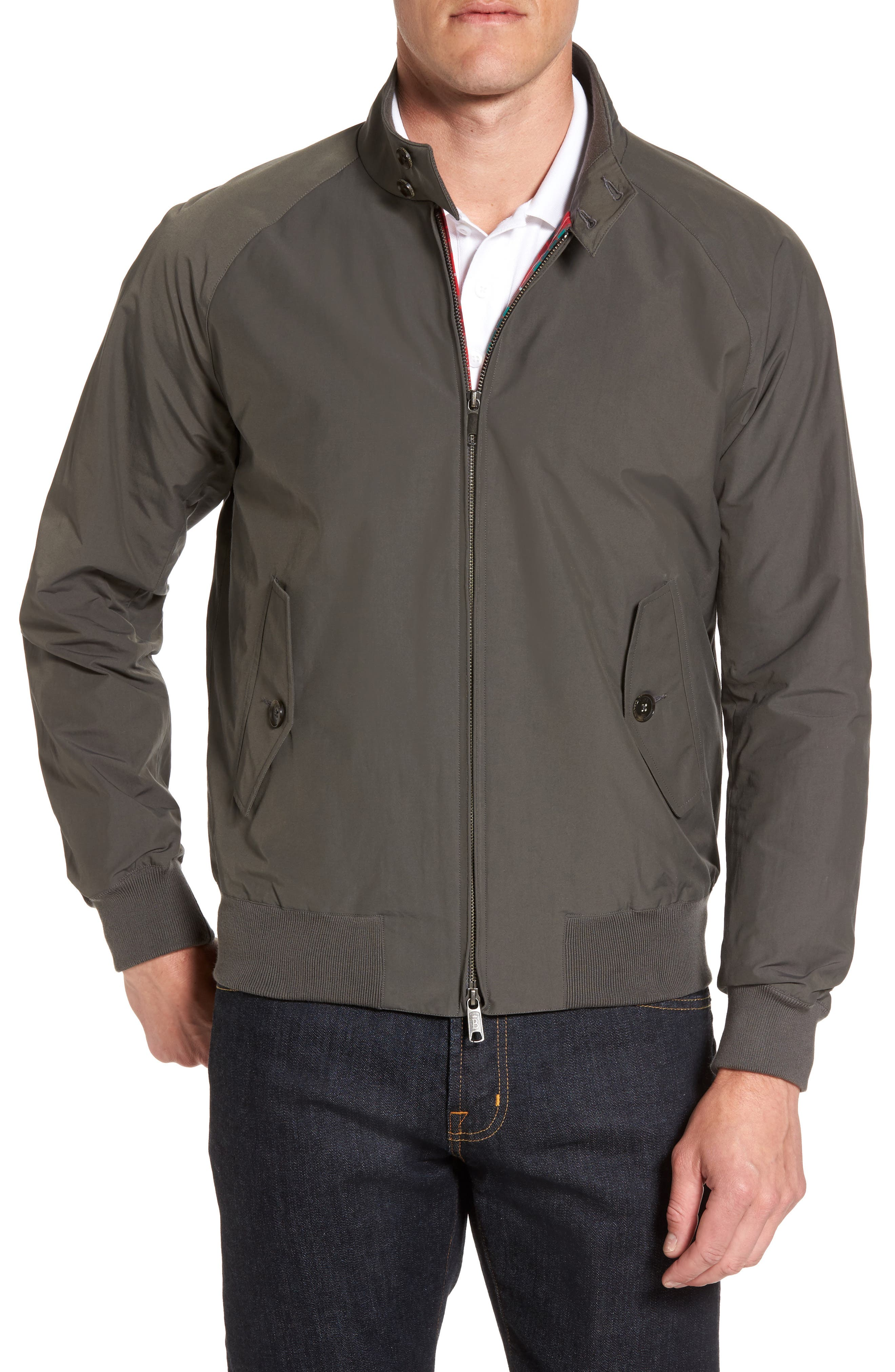 G9 Water Resistant Harrington Jacket,                             Main thumbnail 1, color,                             021