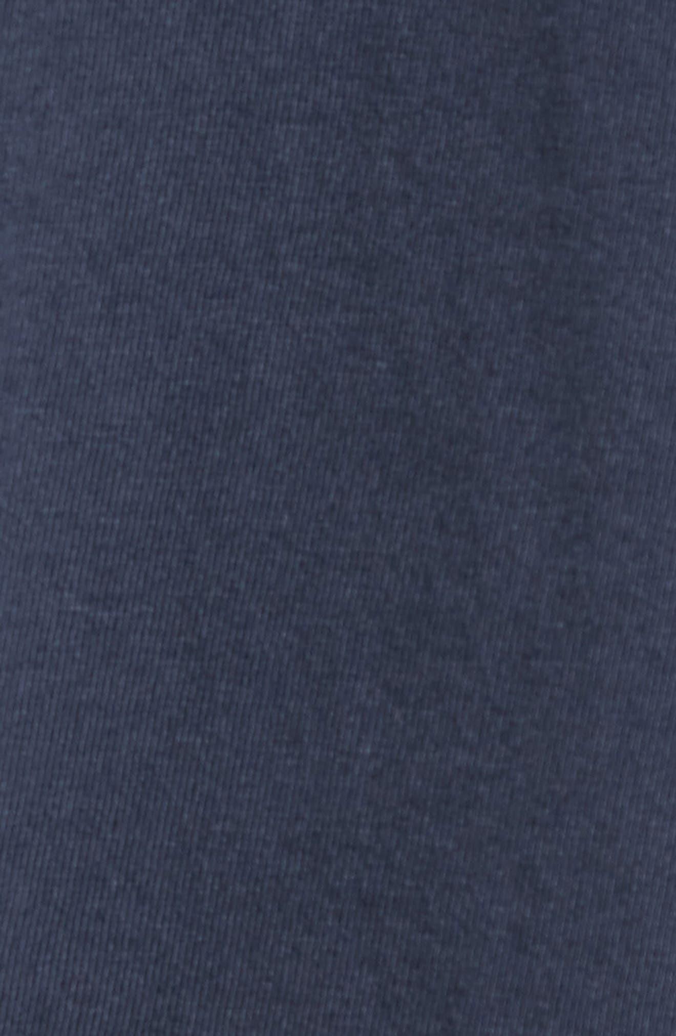MLB Vintage Fieldhouse New York Yankees T-Shirt,                             Alternate thumbnail 5, color,                             MIDNIGHT