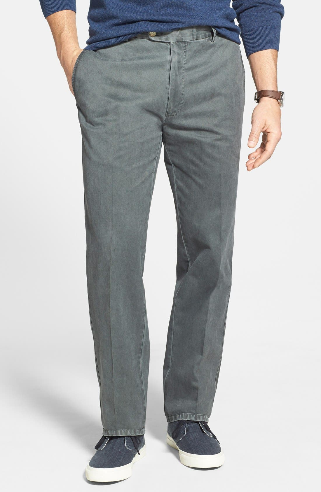 Garment Washed Twill Pants,                             Alternate thumbnail 58, color,