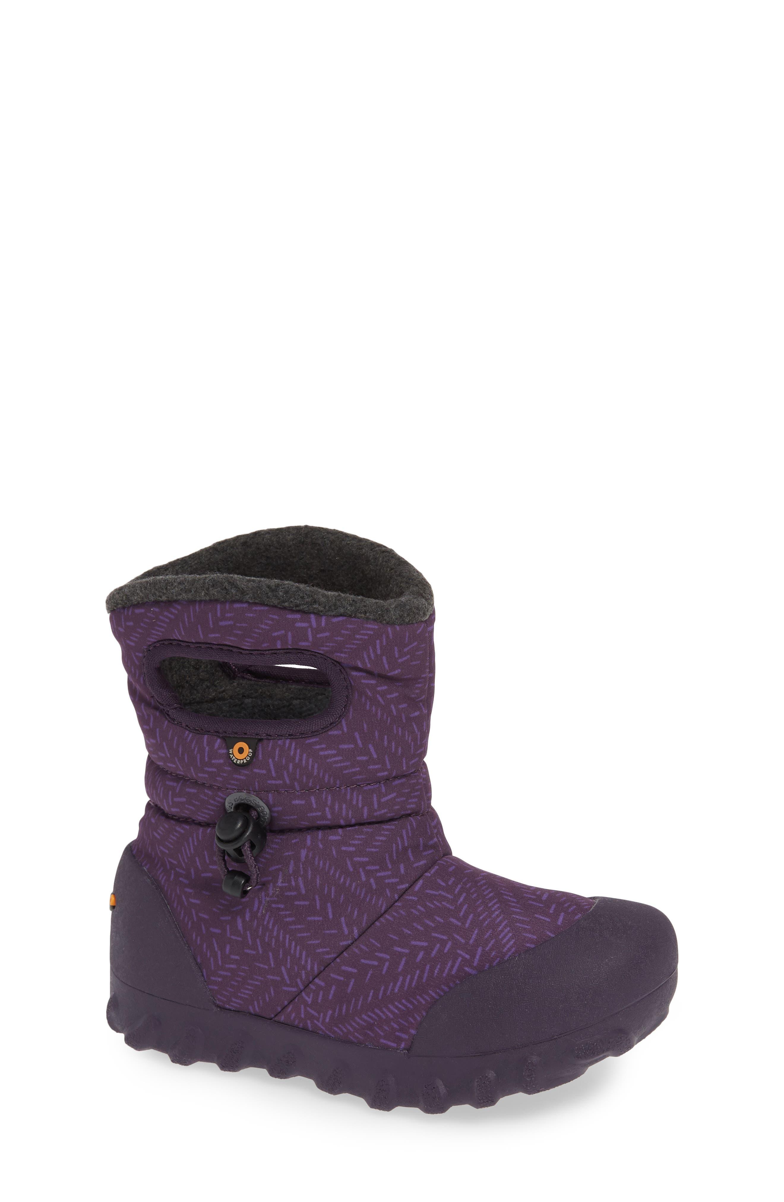 Bogs B-Moc Fleck Waterproof Insulated Faux Fur Boot