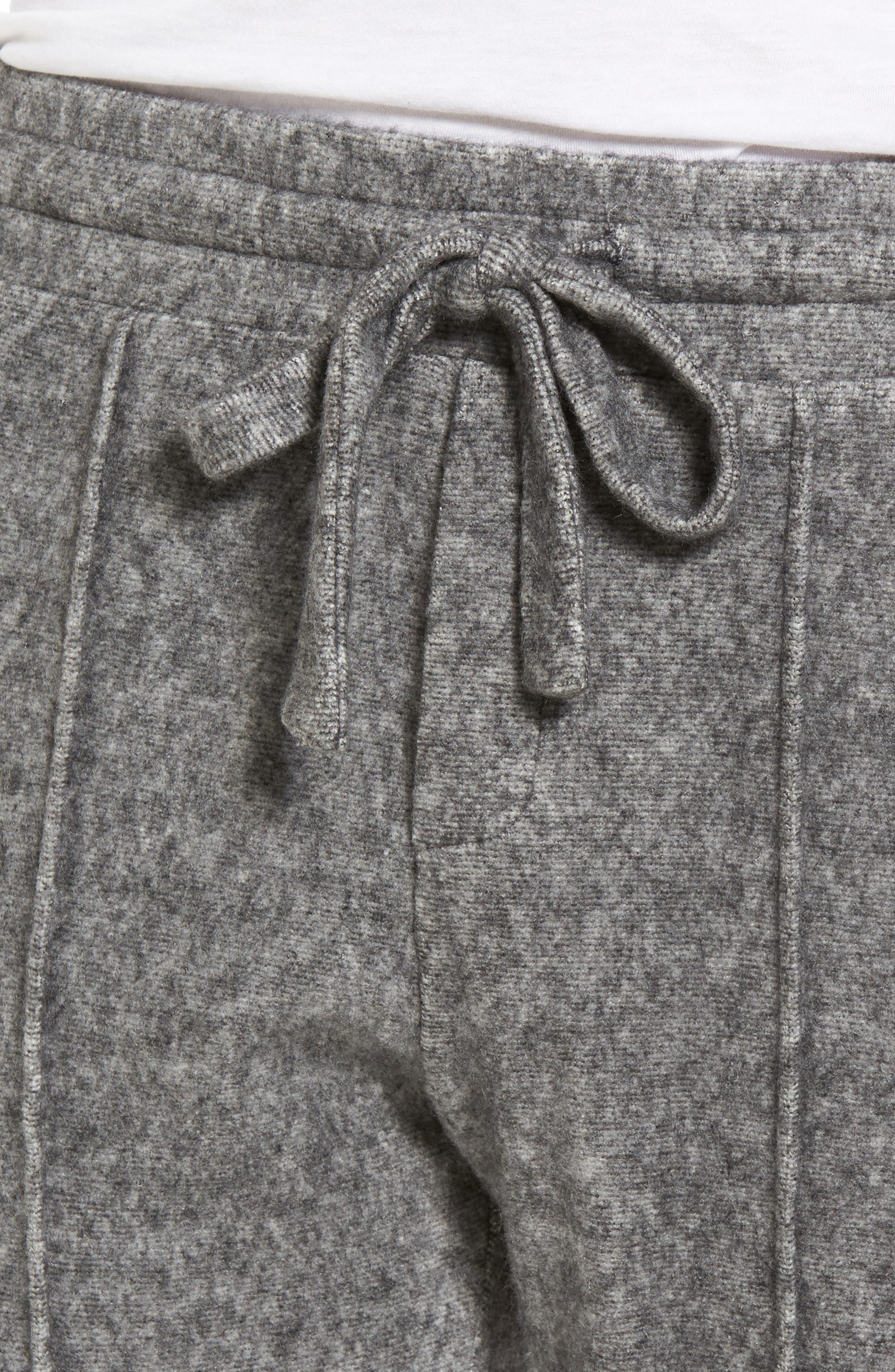 Slim Fleece Jogger Pants,                             Alternate thumbnail 4, color,                             020