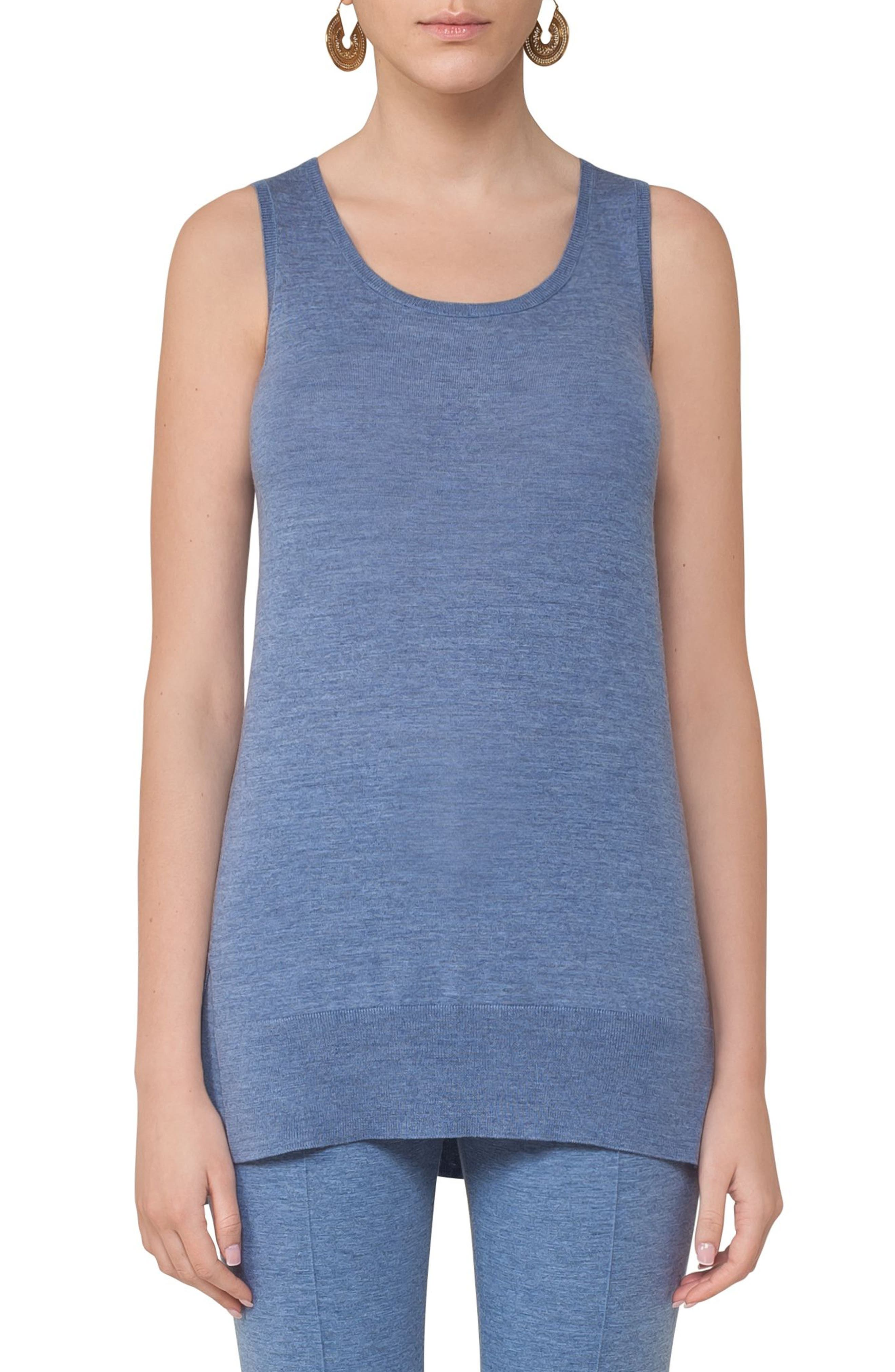 Knit Wool Tank,                         Main,                         color, 400
