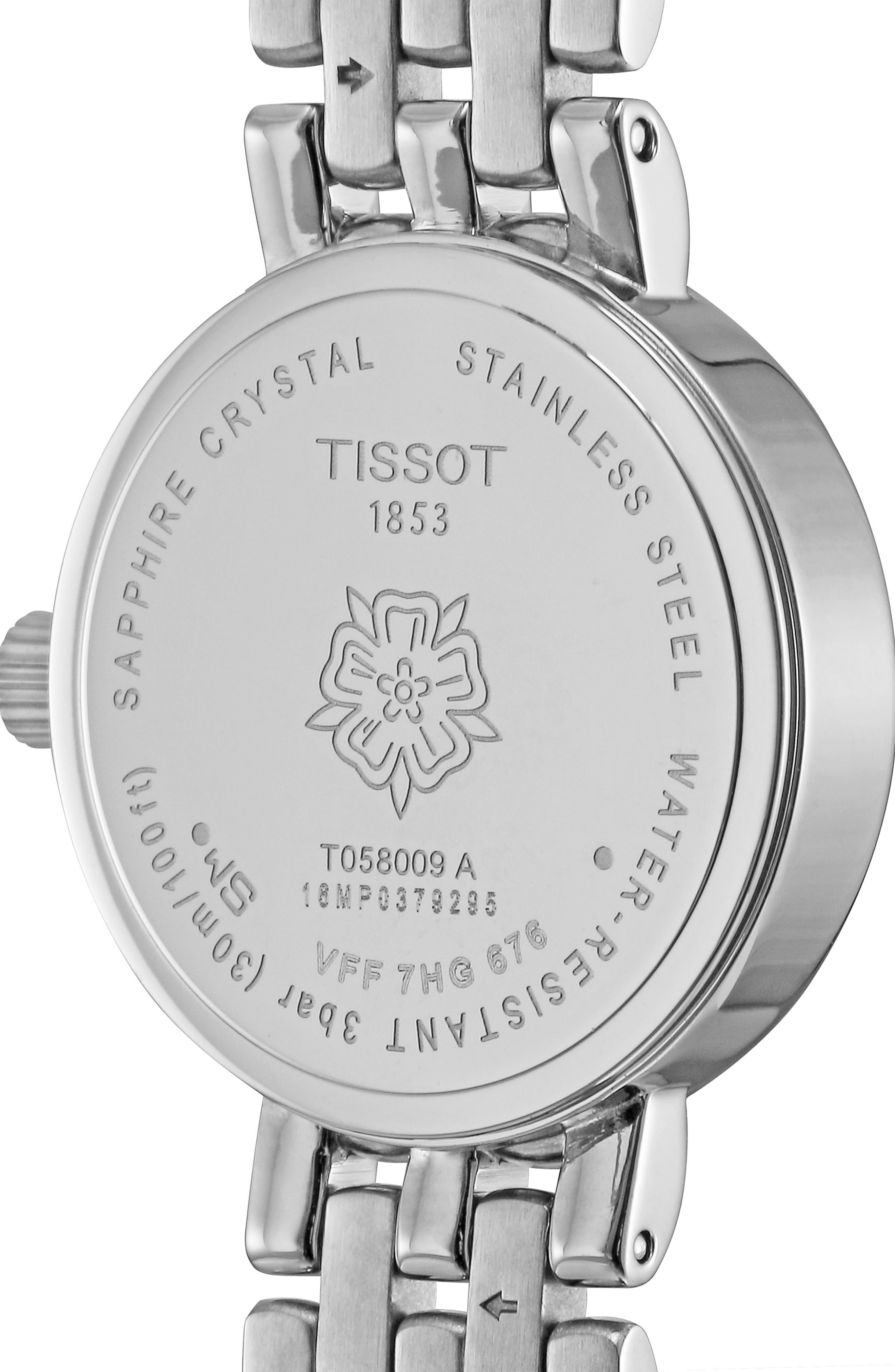 Lovely Bracelet Watch, 19mm,                             Alternate thumbnail 3, color,                             SILVER