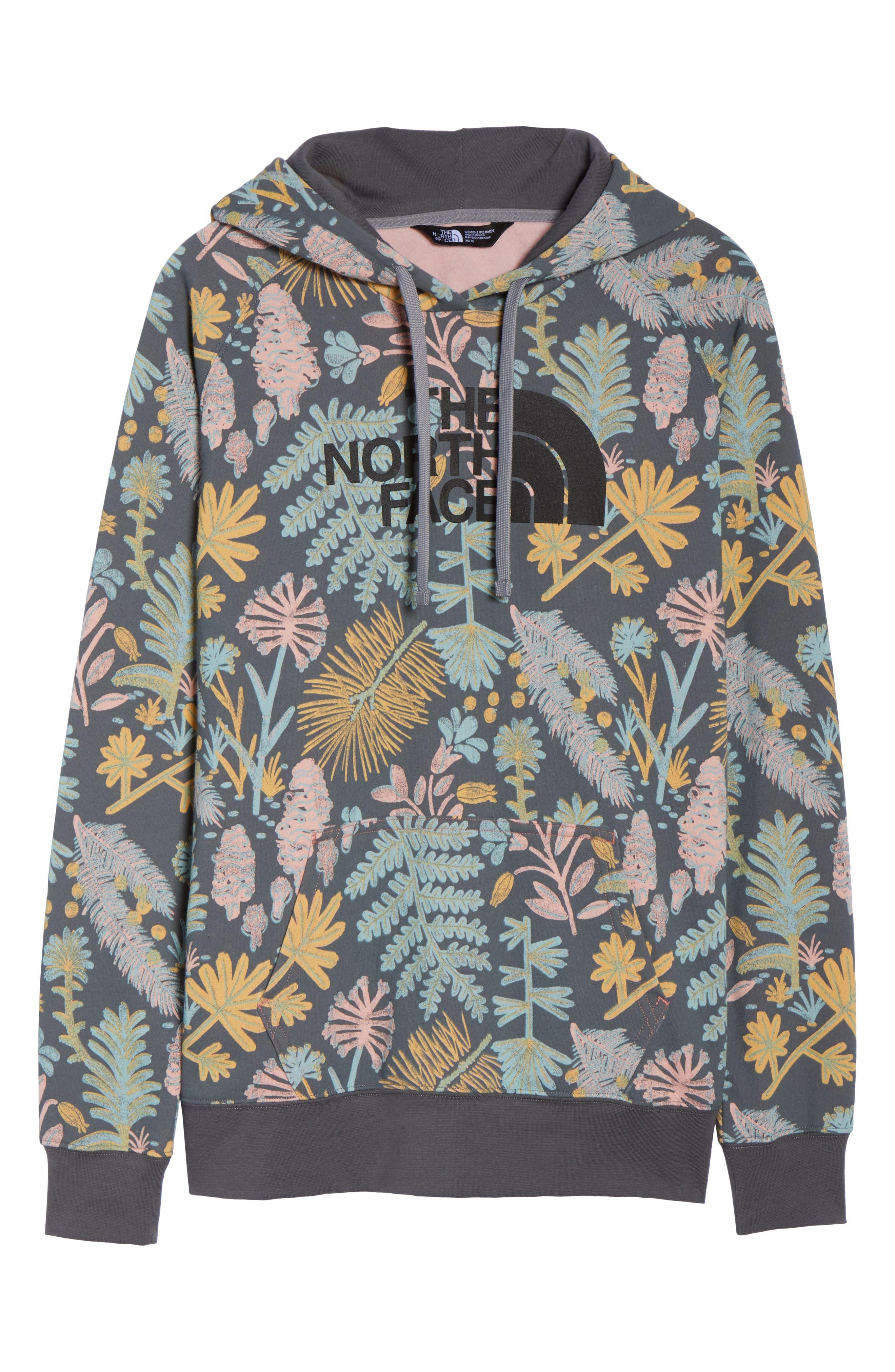 Print Hoodie Sweatshirt,                             Alternate thumbnail 6, color,                             021