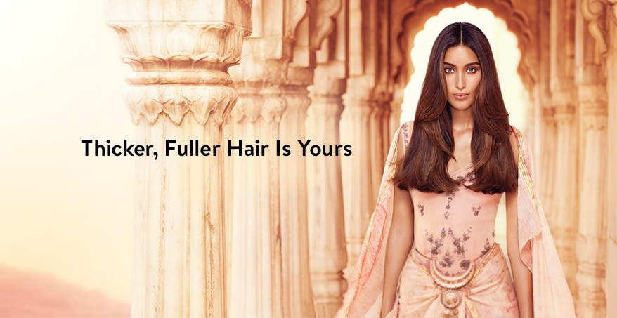 Thicker, fuller hair is yours with Aveda invati.
