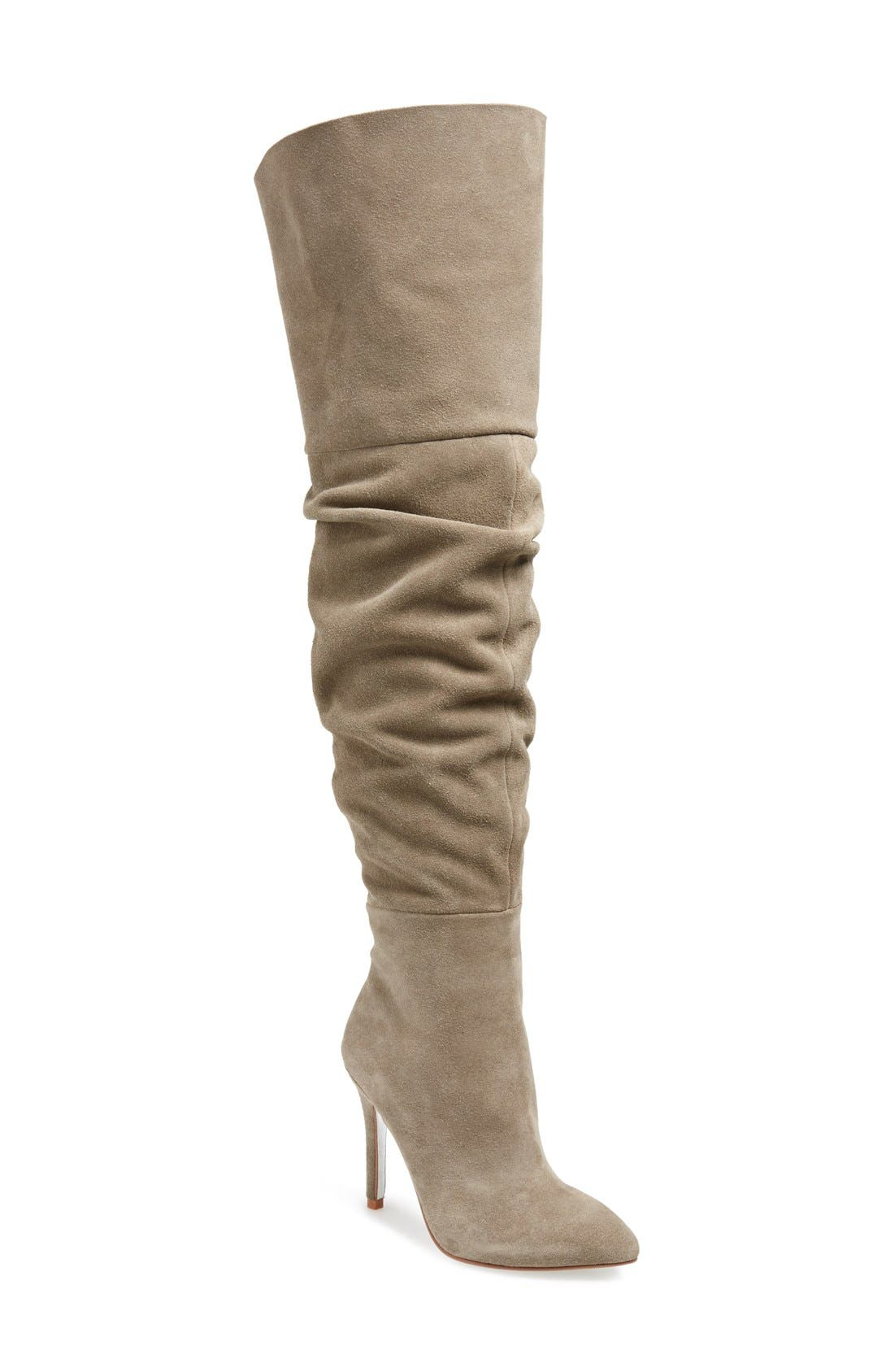 KRISTIN CAVALLARI,                             'Calissa' Over the Knee Slouch Boot,                             Main thumbnail 1, color,                             031