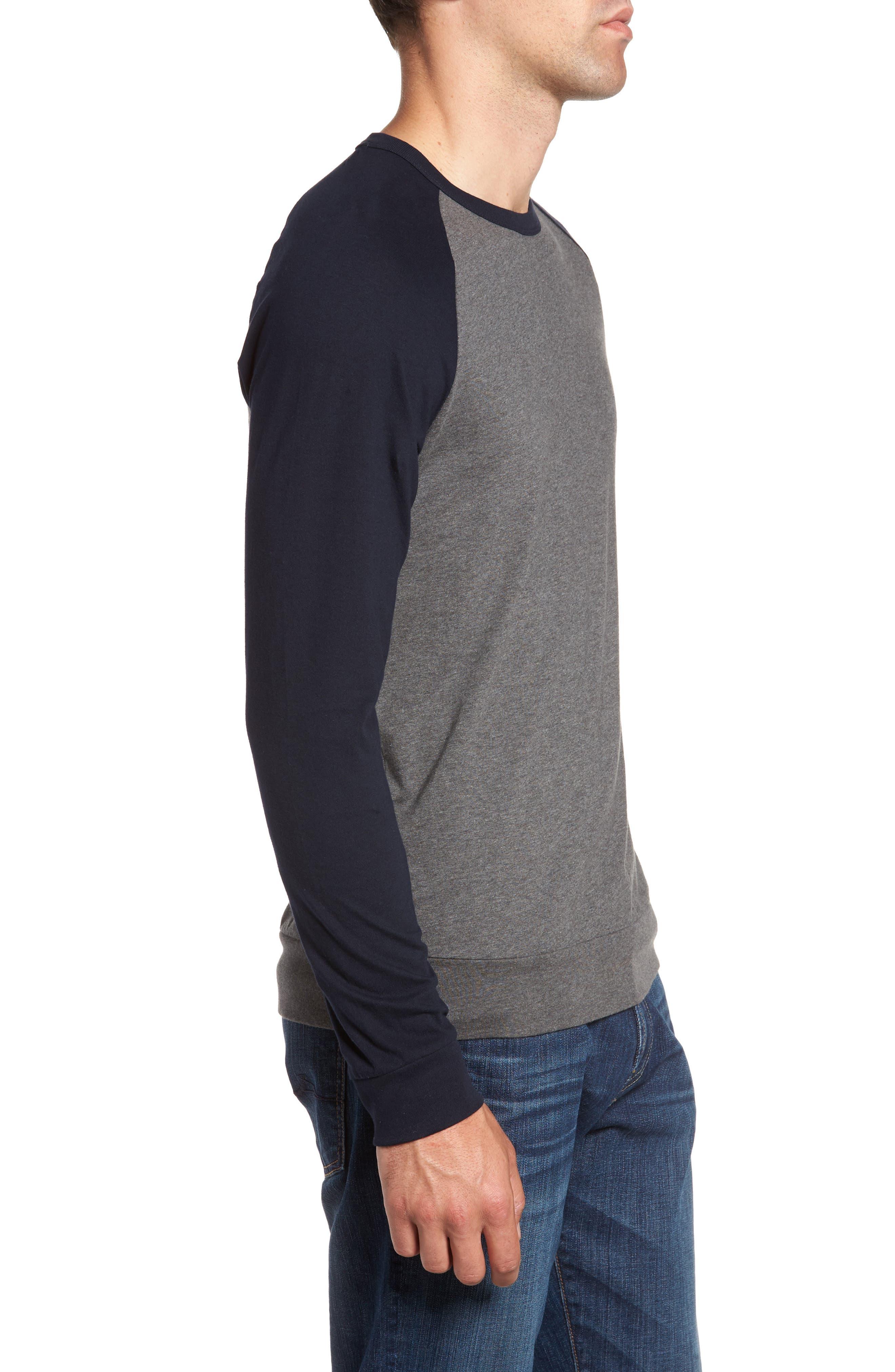 Classic Long Sleeve Raglan T-Shirt,                             Alternate thumbnail 3, color,                             025