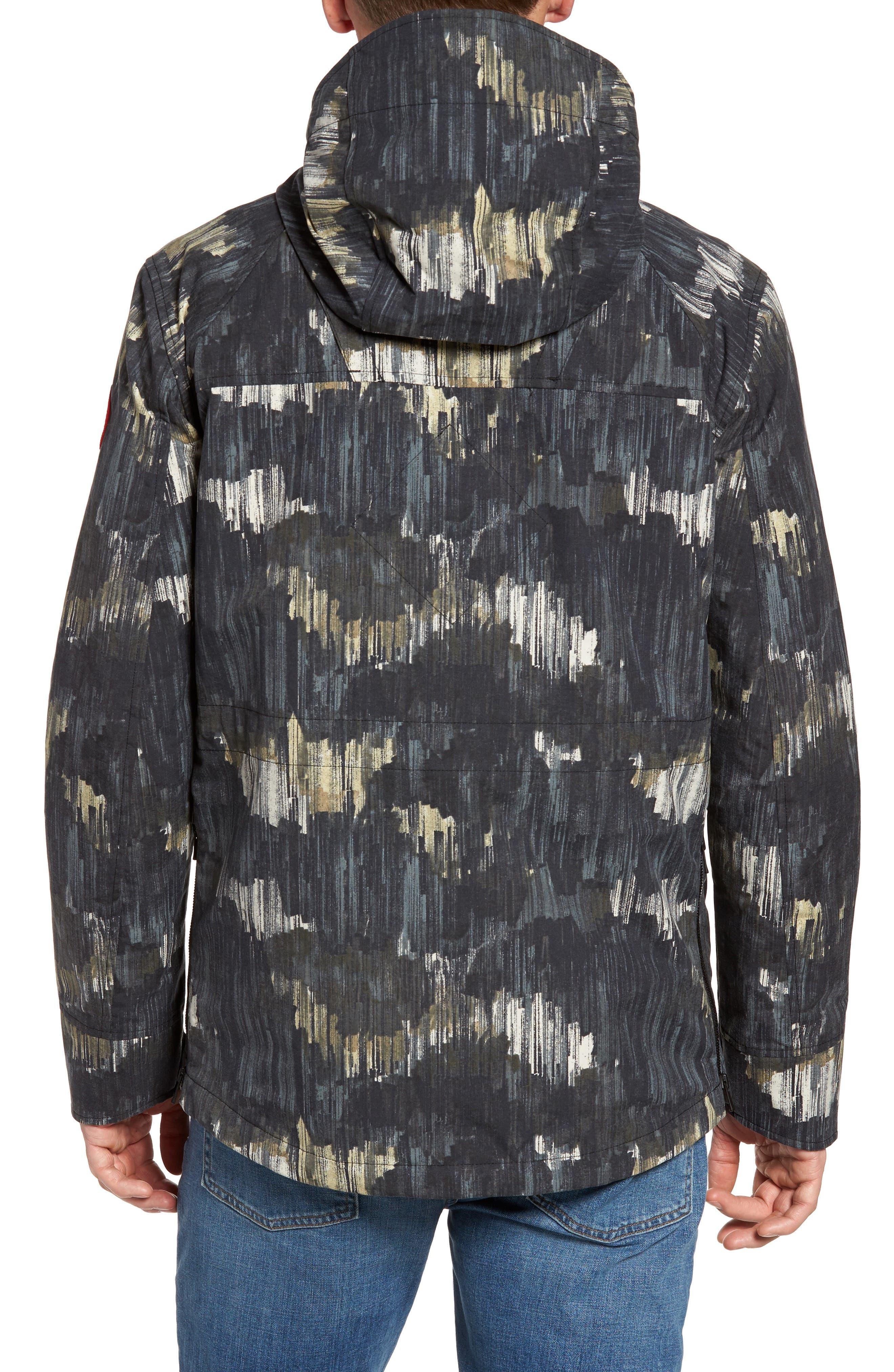 Redstone Slim Fit Hooded Jacket,                             Alternate thumbnail 2, color,                             NOCTURNE PRINT