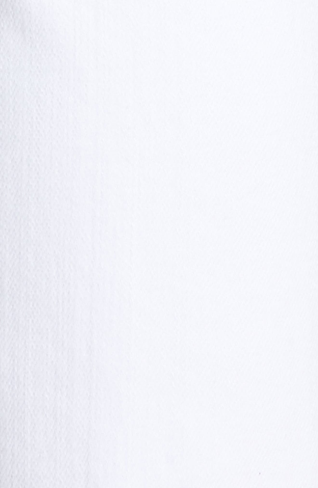 Elsa Ankle Skinny Jeans,                             Alternate thumbnail 6, color,                             OPTIC WHITE