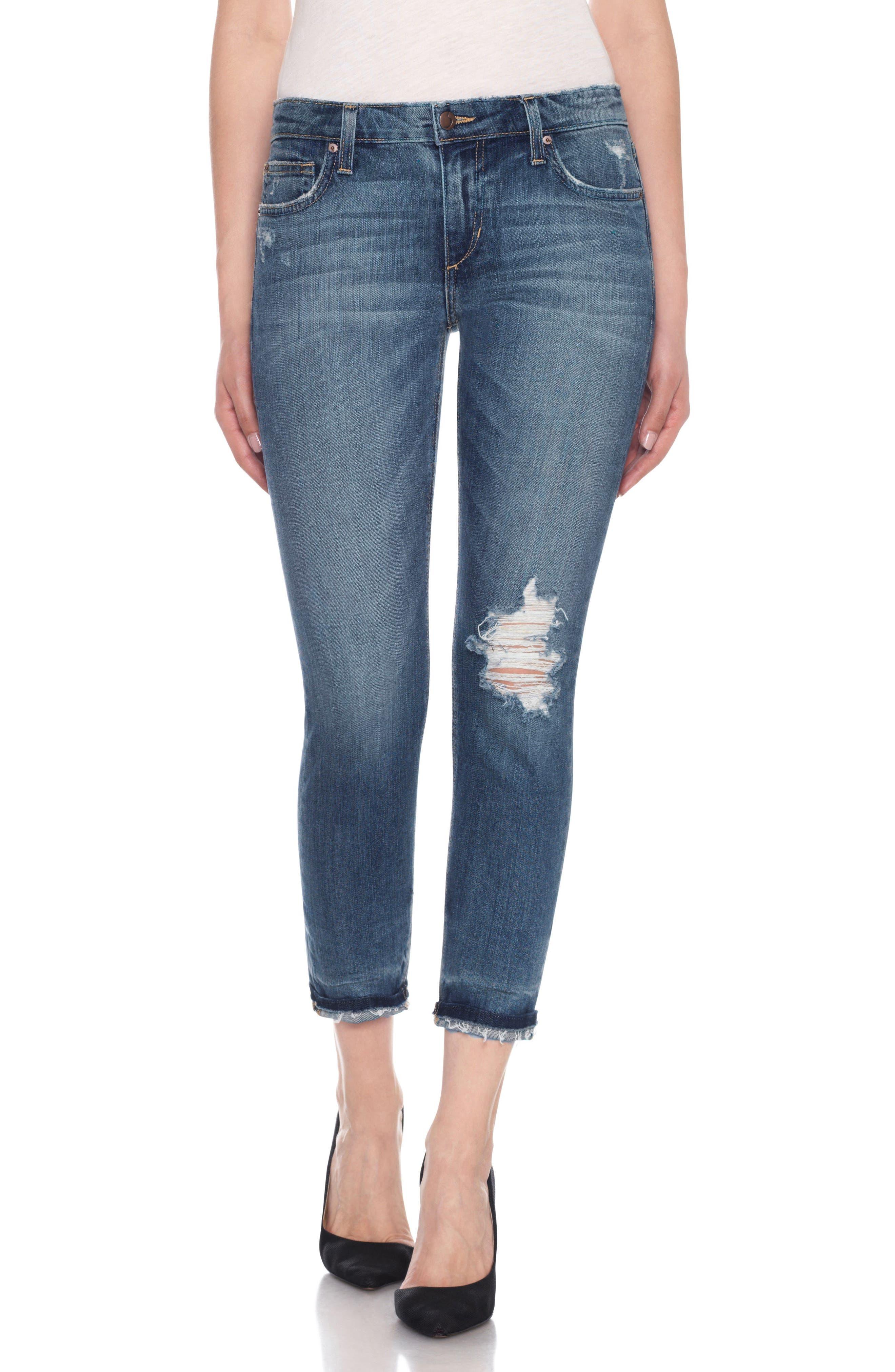 Ex-Lover Crop Boyfriend Jeans,                         Main,                         color, 460
