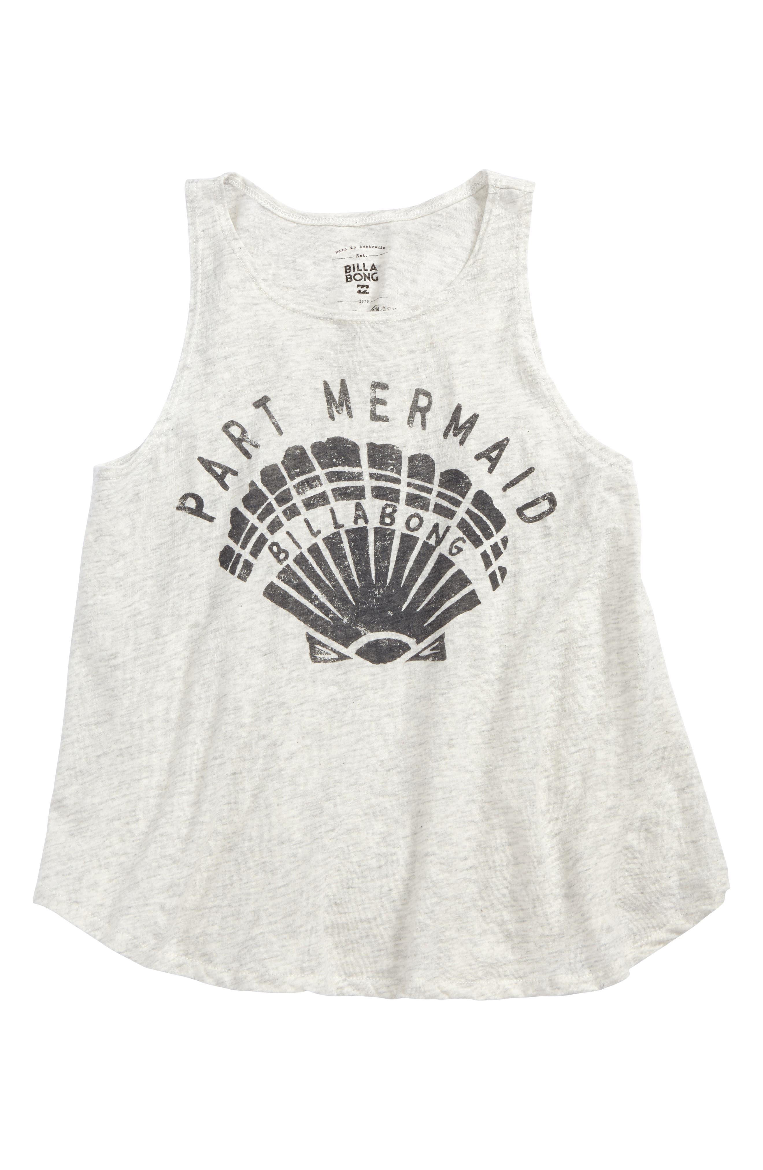 Part Mermaid Graphic Tee,                         Main,                         color, 900