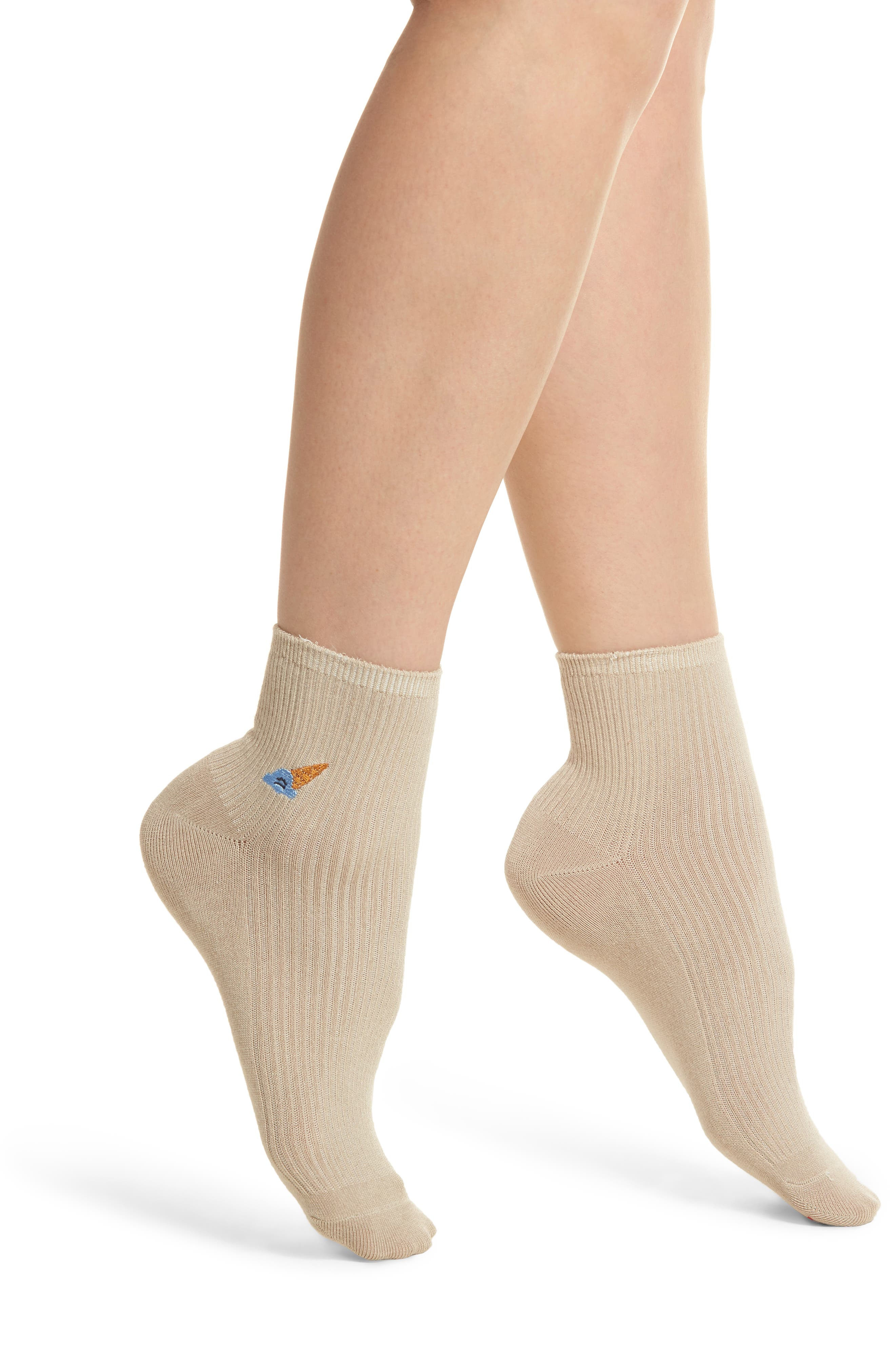 Coney Ankle Socks,                         Main,                         color, 250