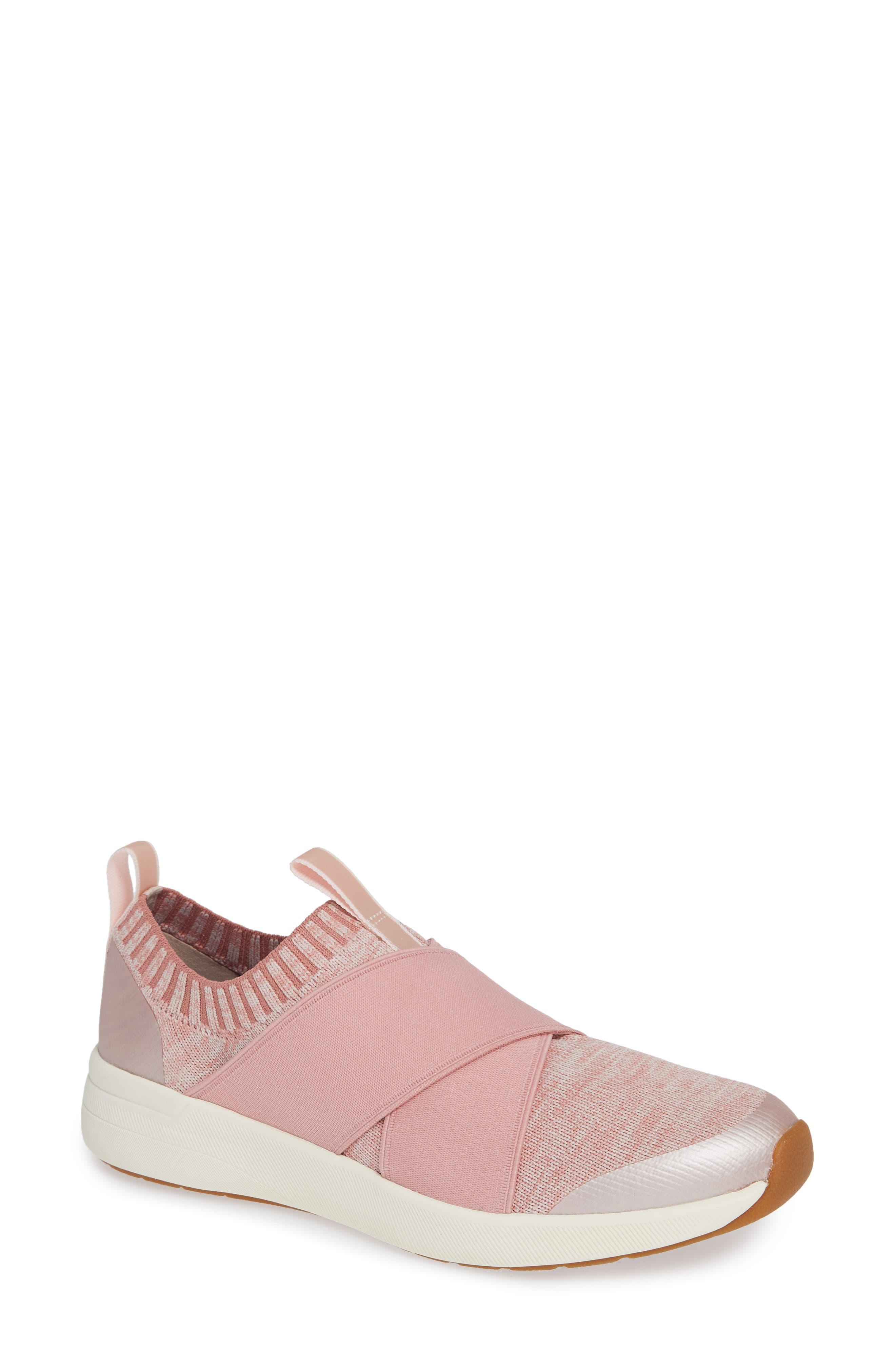 KEDS<SUP>®</SUP>,                             Studio Jumper Knit Sneaker,                             Main thumbnail 1, color,                             LIGHT PINK