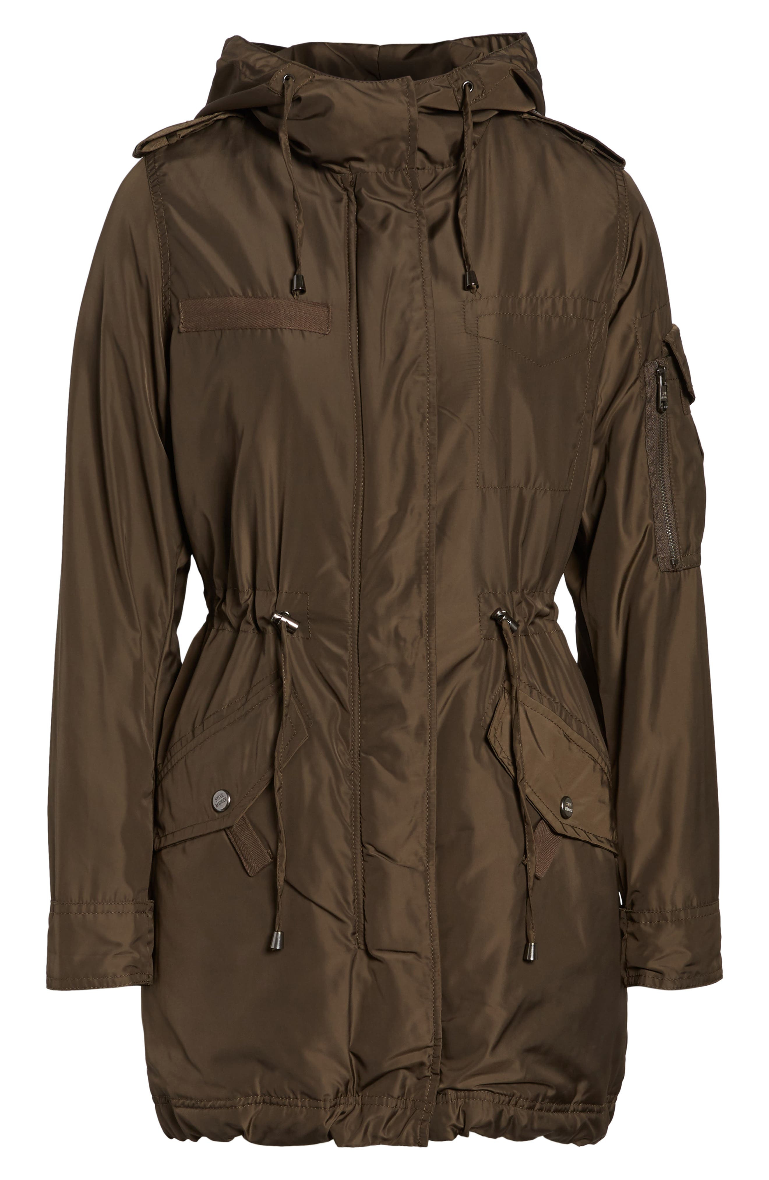Hooded Water Repellent Anorak,                             Alternate thumbnail 10, color,