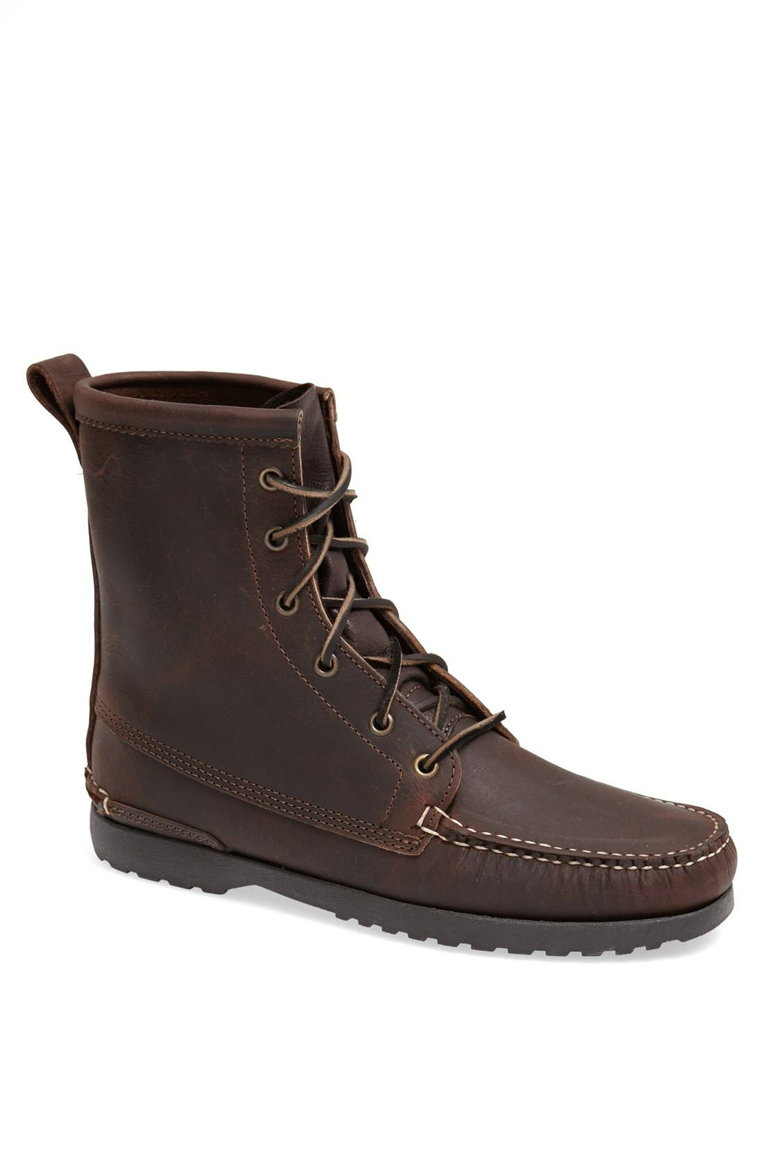 'Grizzly' Moc Toe Boot, Main, color, 202