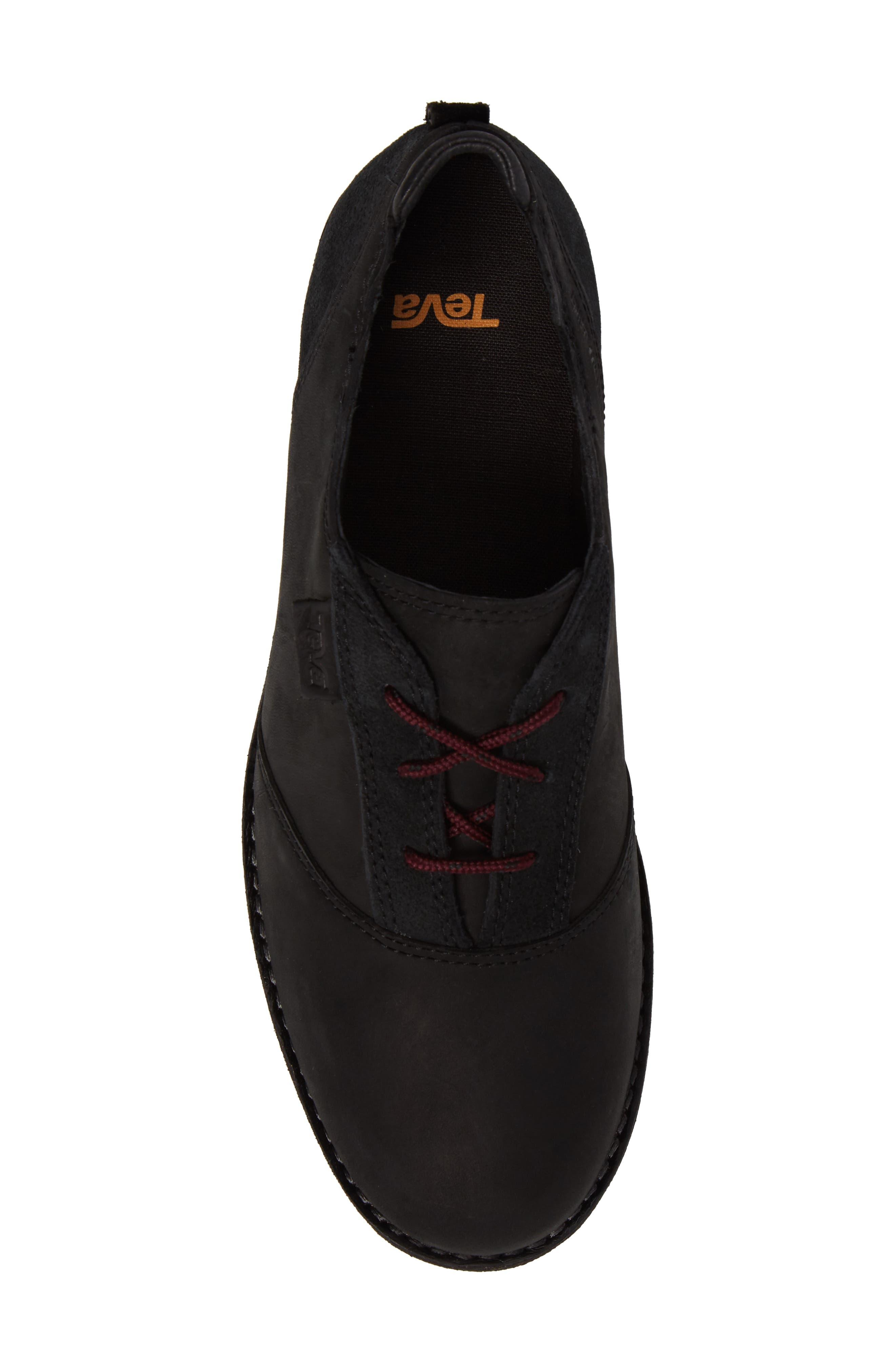 De La Vina Dos Waterproof Sneaker,                             Alternate thumbnail 5, color,                             001