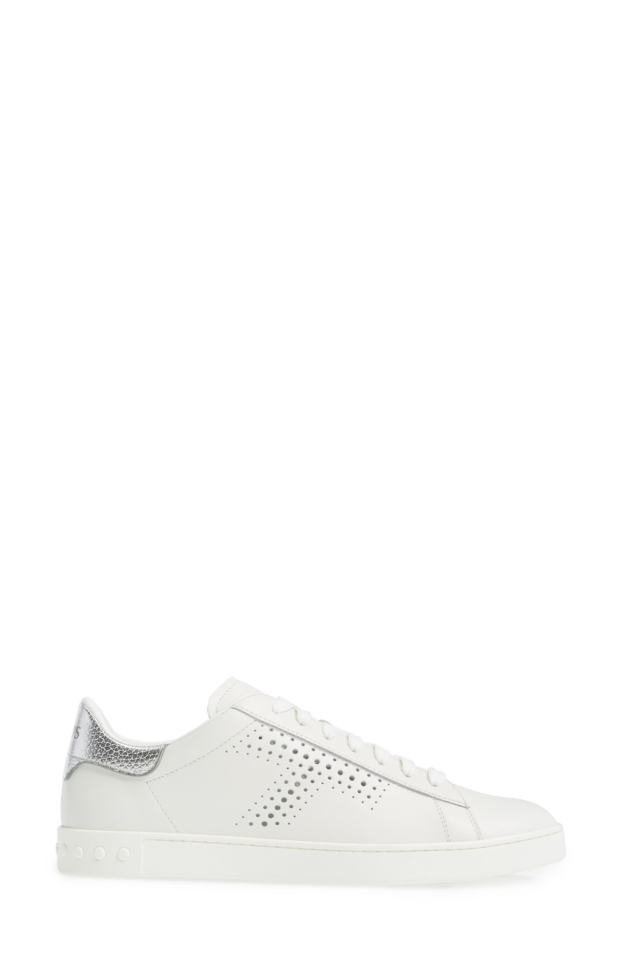Perforated T Sneaker,                             Alternate thumbnail 8, color,