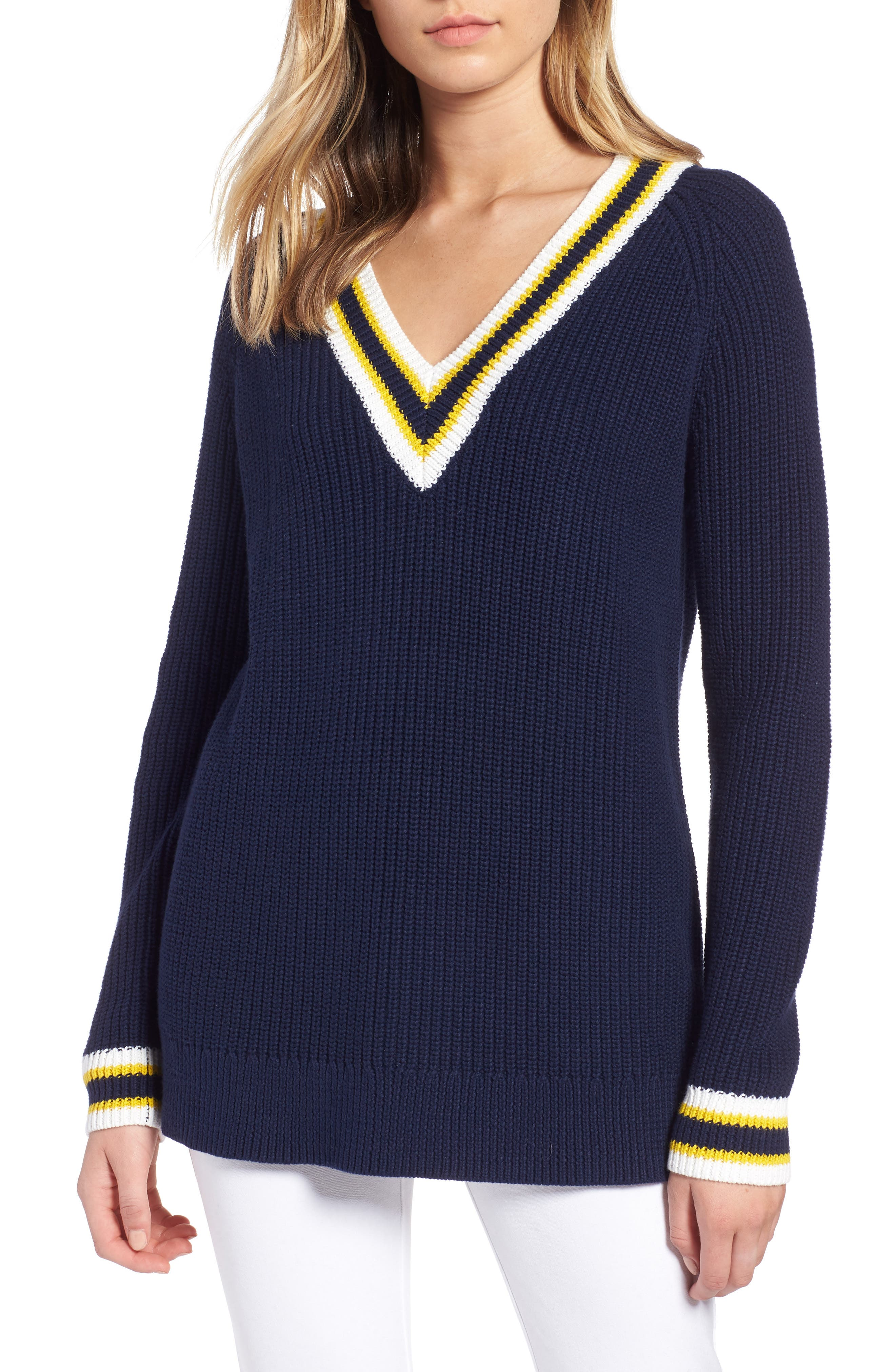 Tennis Sweater,                             Main thumbnail 1, color,                             410
