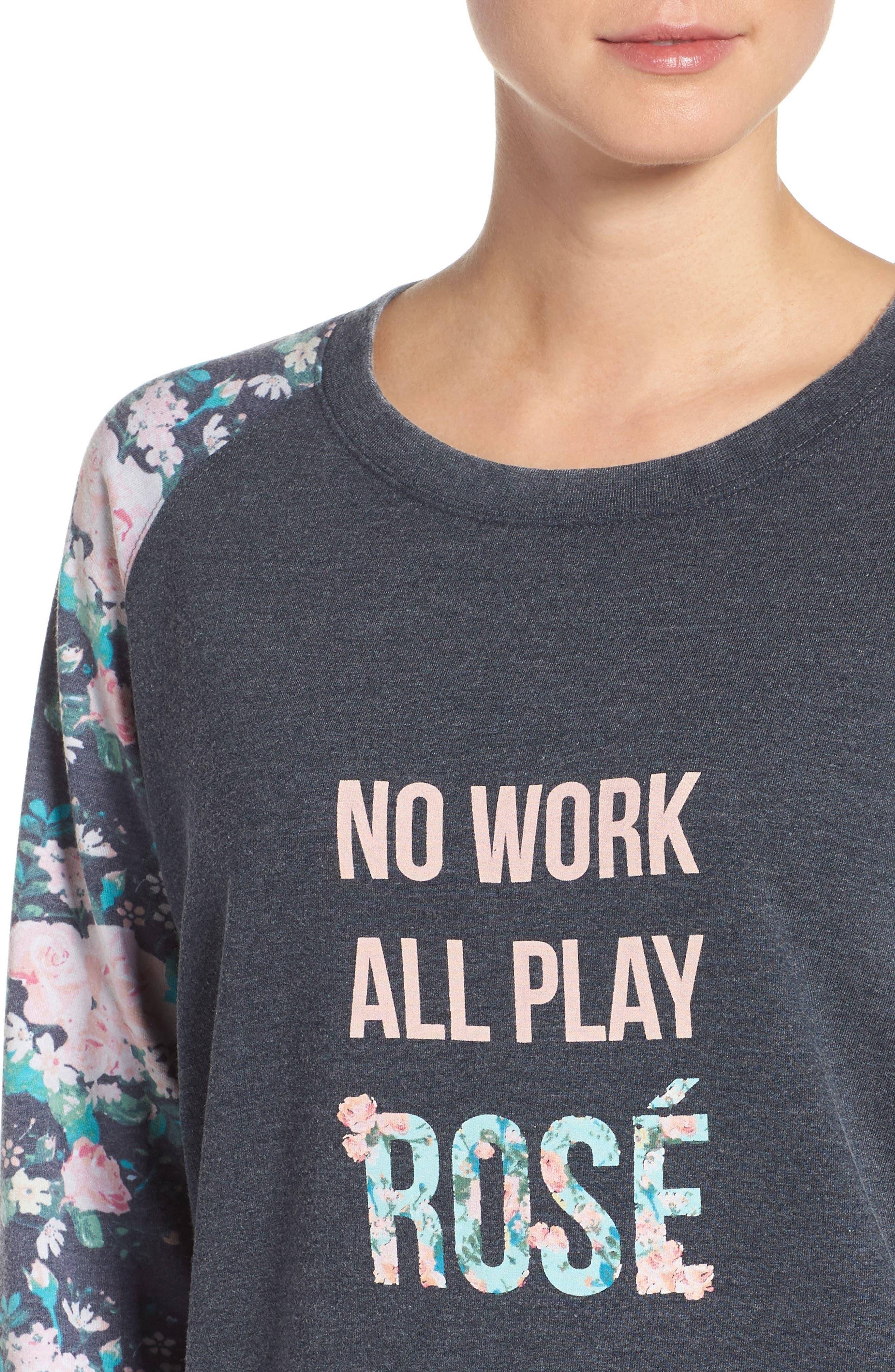 Burnout Lounge Sweatshirt,                             Alternate thumbnail 205, color,