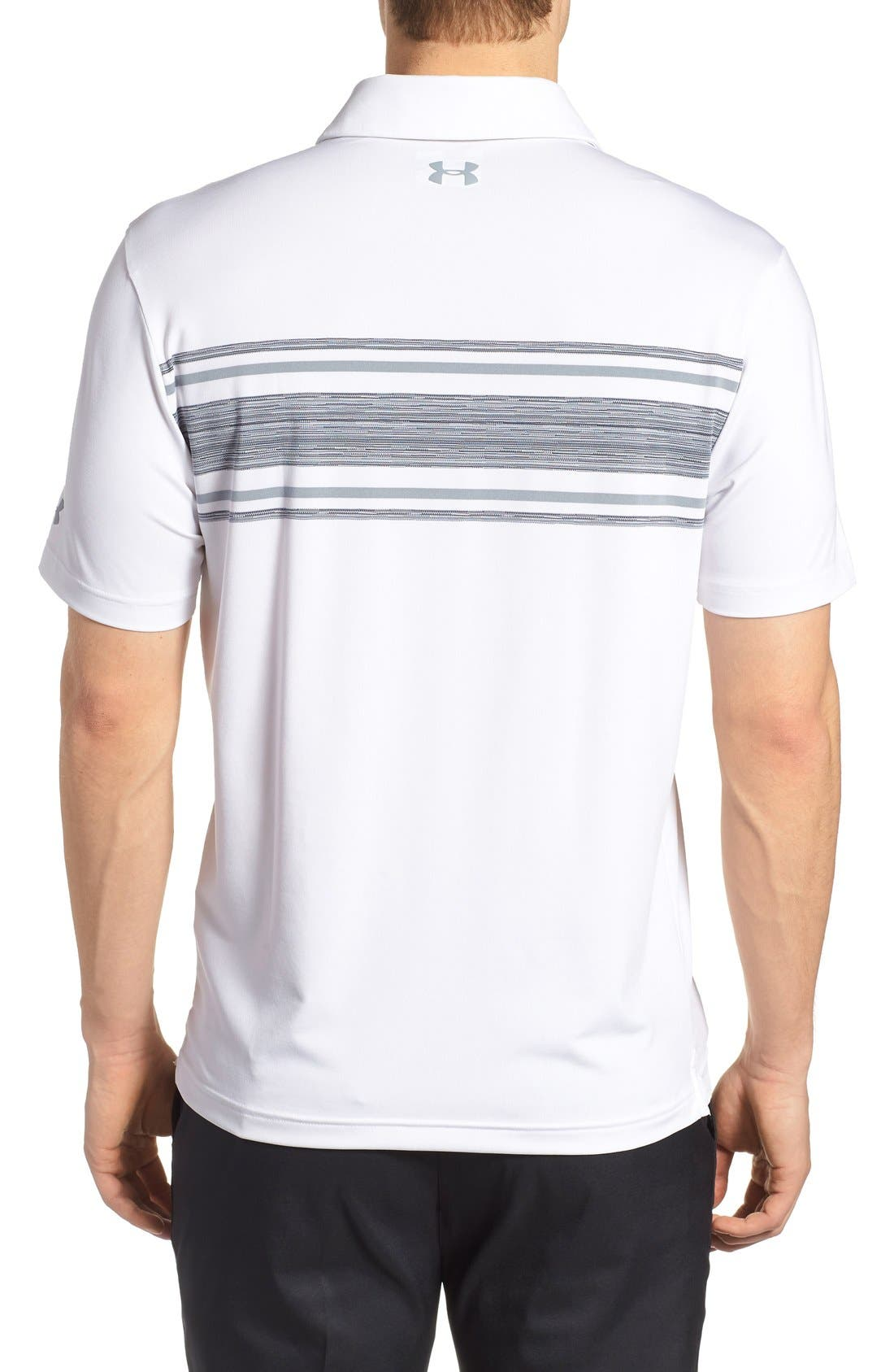'Playoff' Loose Fit Short Sleeve Polo,                             Alternate thumbnail 133, color,