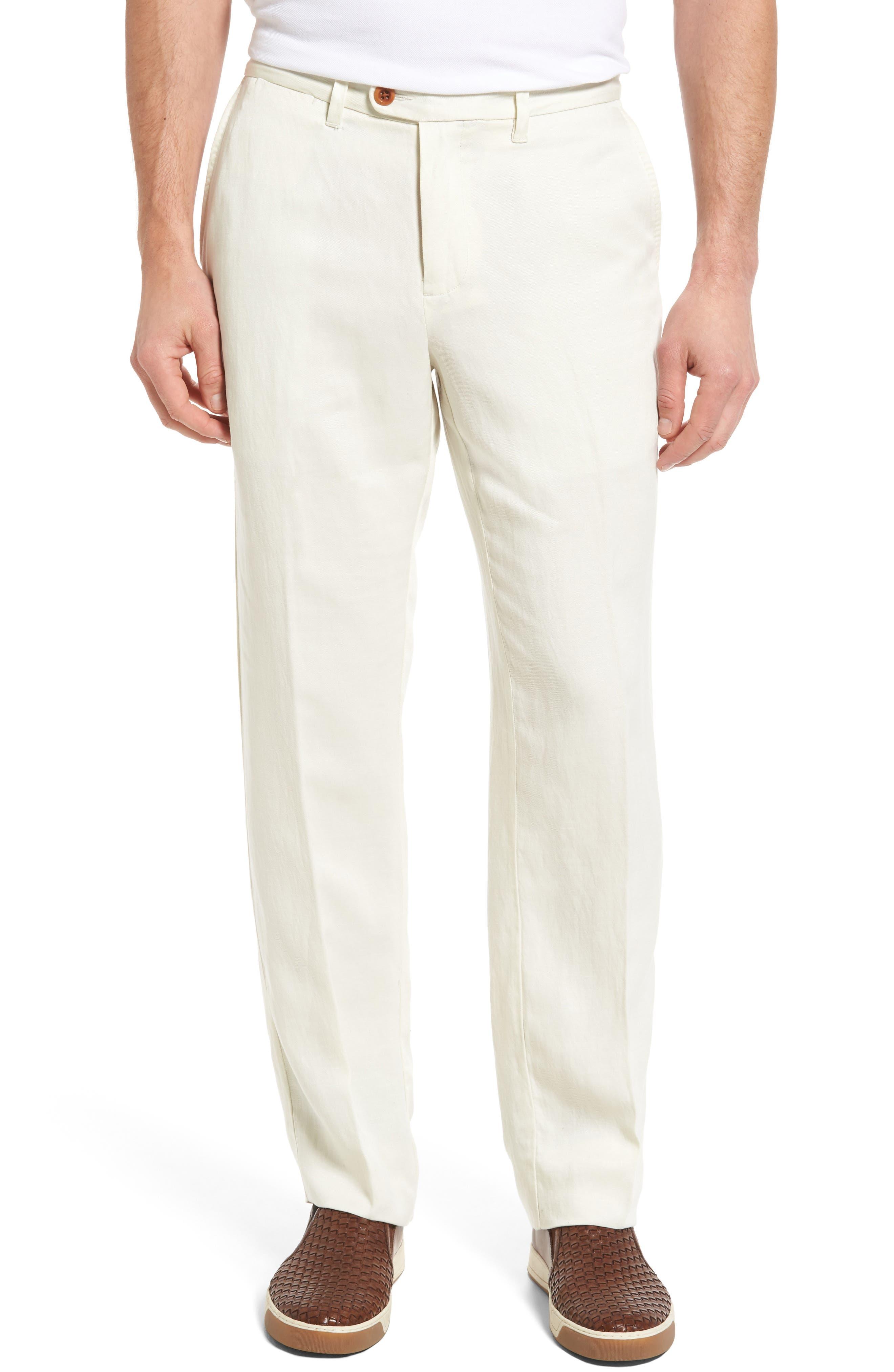 'La Jolla' Flat Front Pants,                             Main thumbnail 1, color,                             250