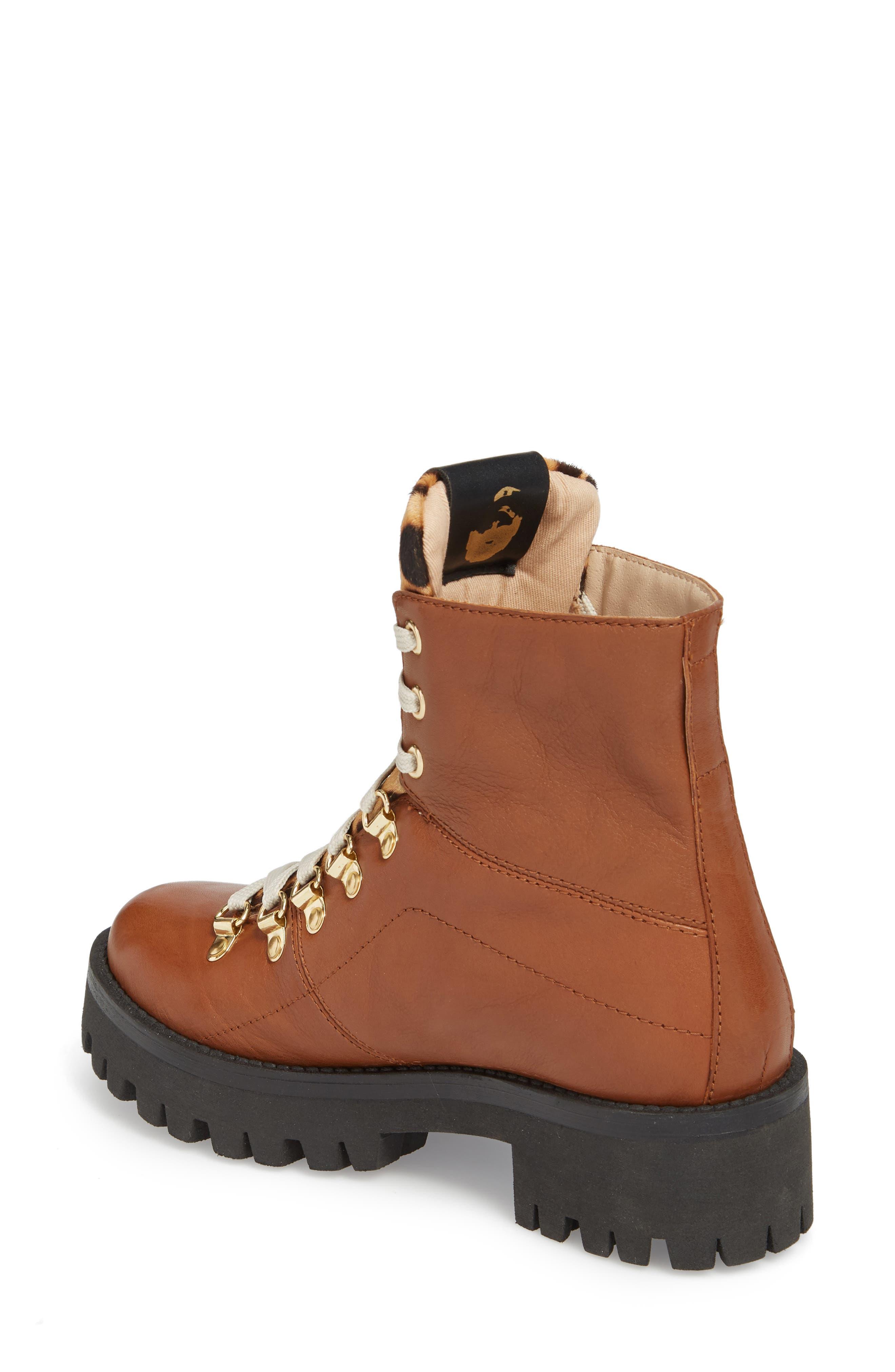 STEVE MADDEN,                             Boom Hiker Boot with Genuine Calf Hair,                             Alternate thumbnail 2, color,                             200