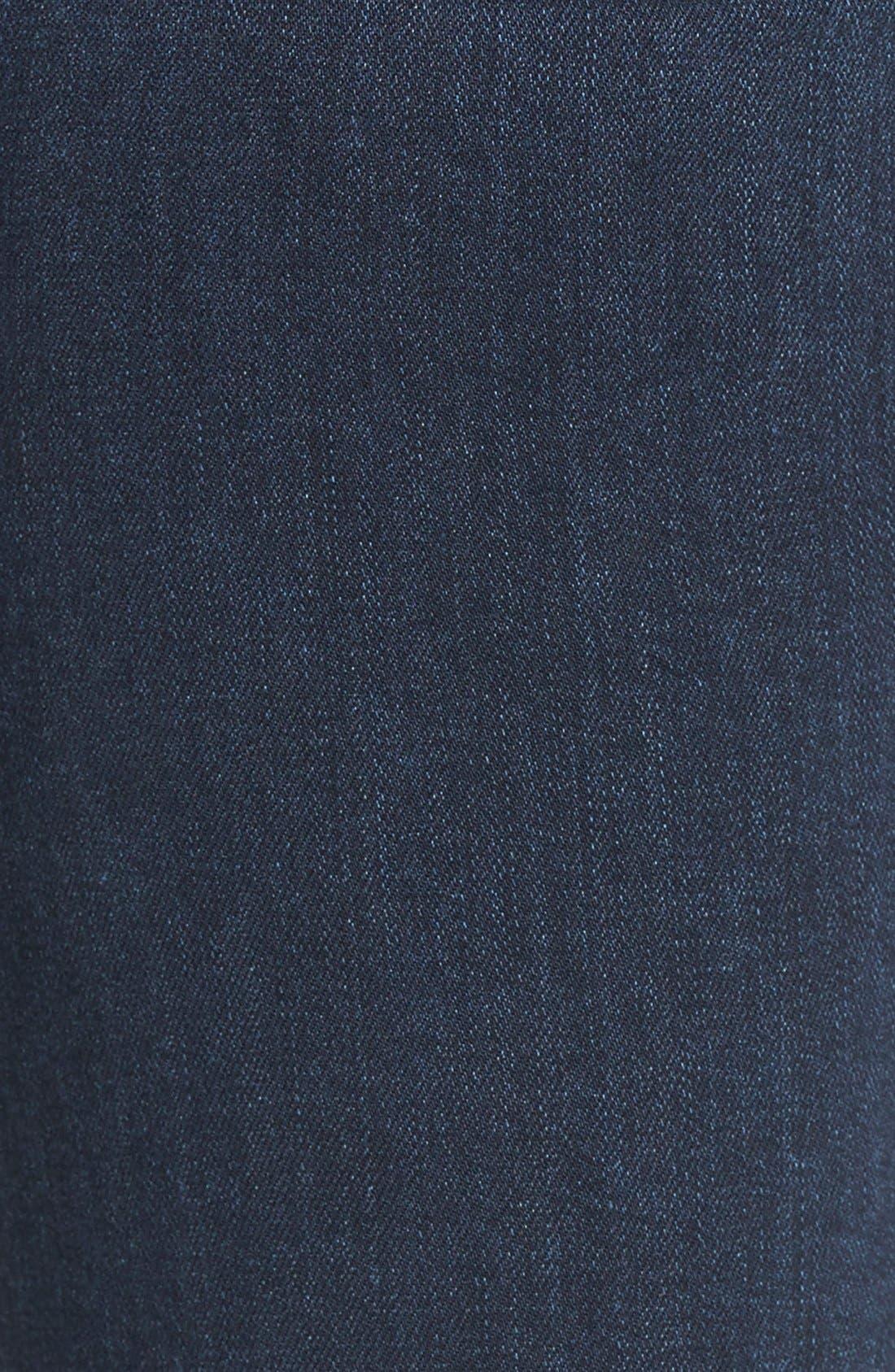 Denim 'Jill' Ultra Skinny Jeans,                             Alternate thumbnail 4, color,                             400