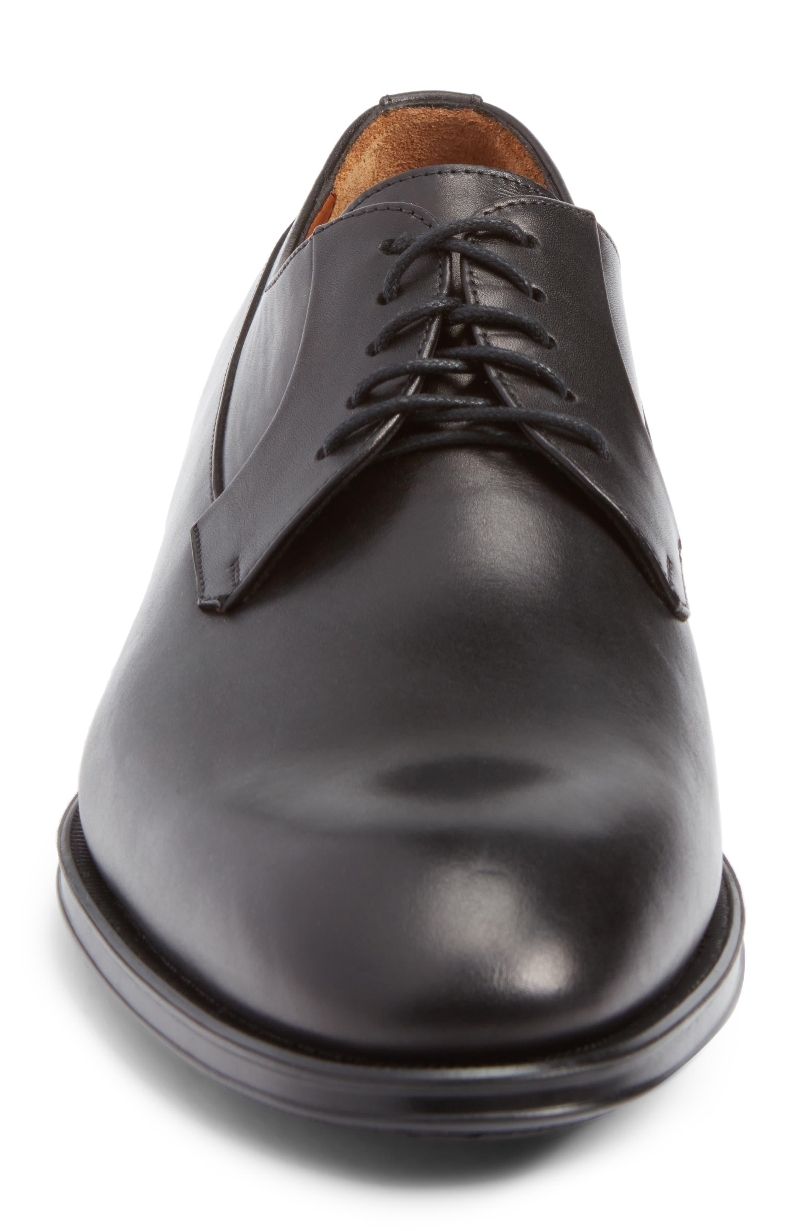 Decker Plain Toe Derby,                             Alternate thumbnail 4, color,                             001
