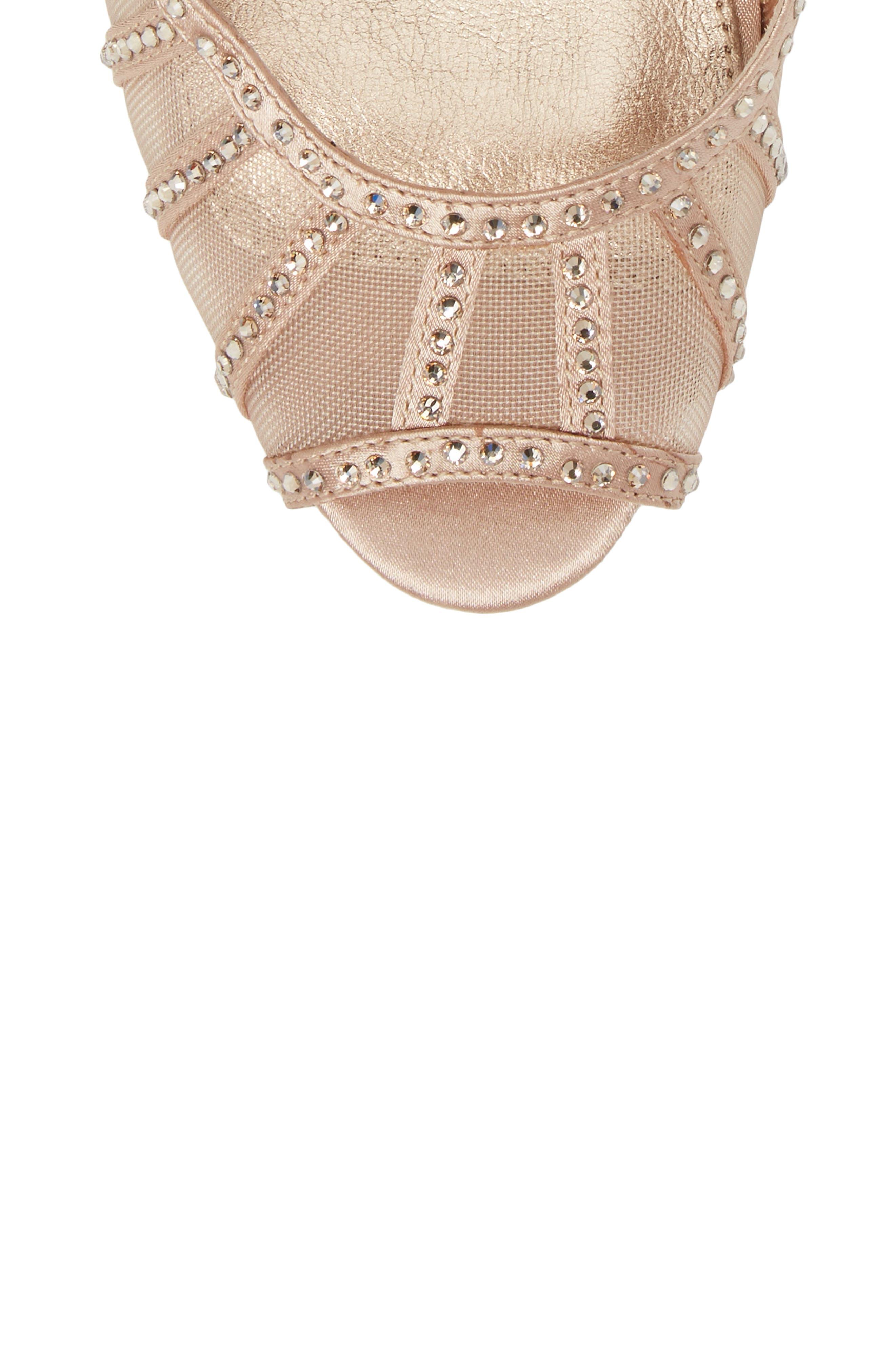 Simone Crystal Embellished Platform Sandal,                             Alternate thumbnail 19, color,