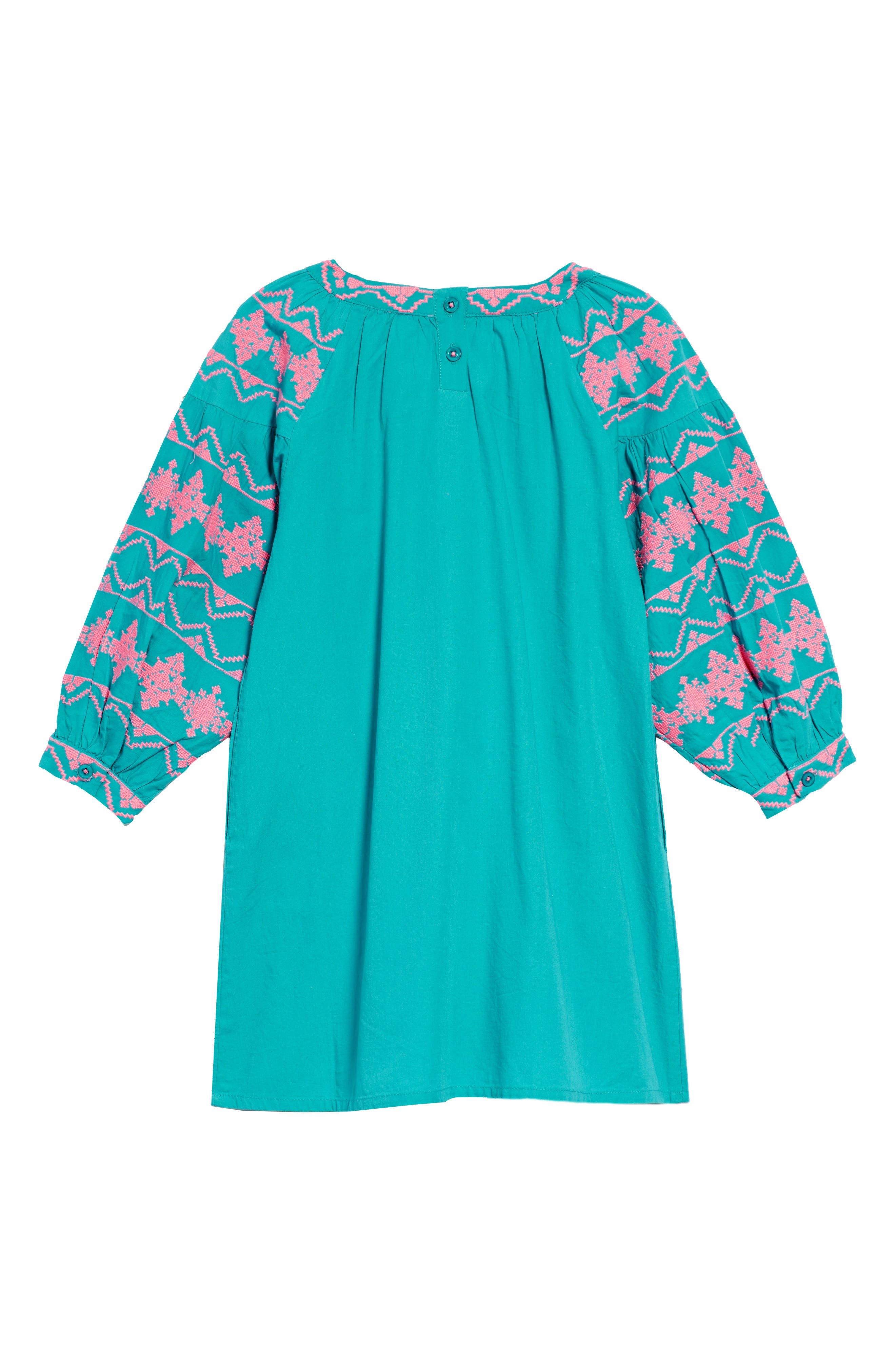 Kellie Embroidered Dress,                             Alternate thumbnail 2, color,                             440