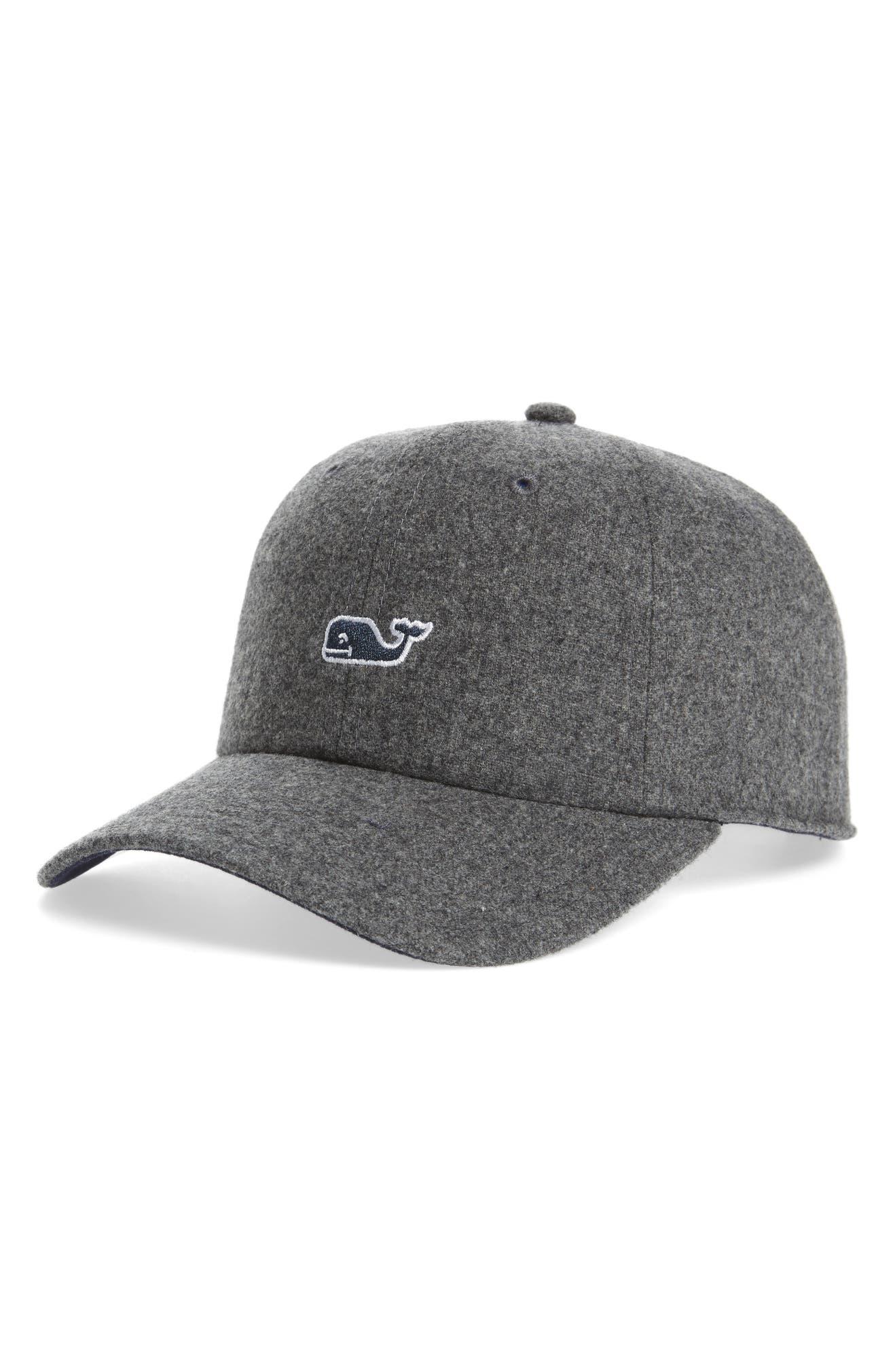 a4559083f328b1 vineyard vines Wool Blend Baseball Cap | Nordstrom