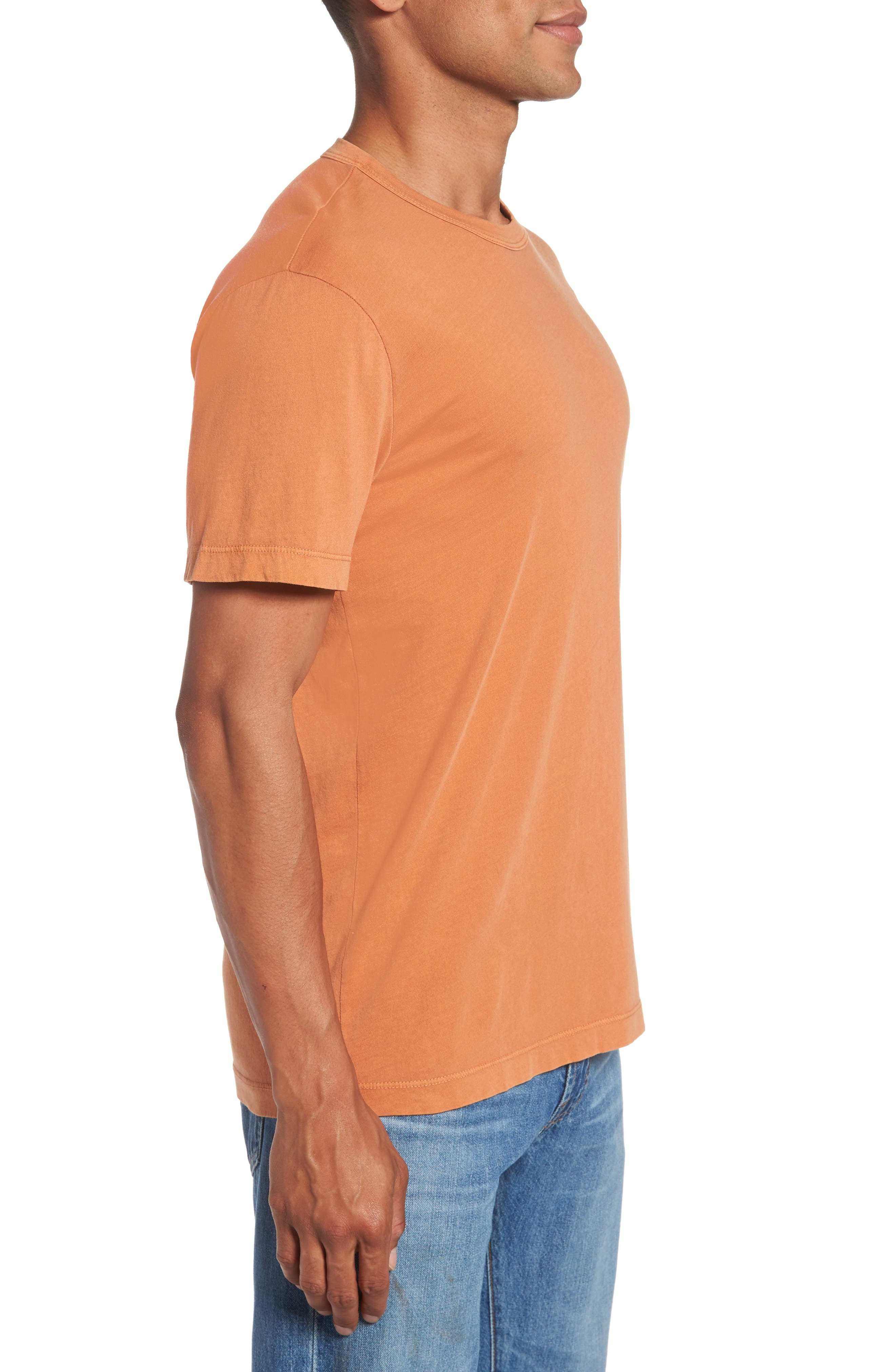 Crewneck Jersey T-Shirt,                             Alternate thumbnail 380, color,