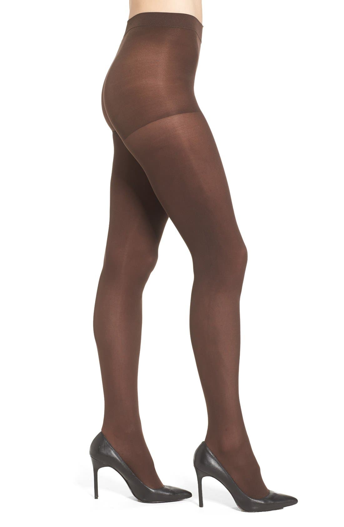 'Everyday' Opaque Tights,                             Main thumbnail 2, color,