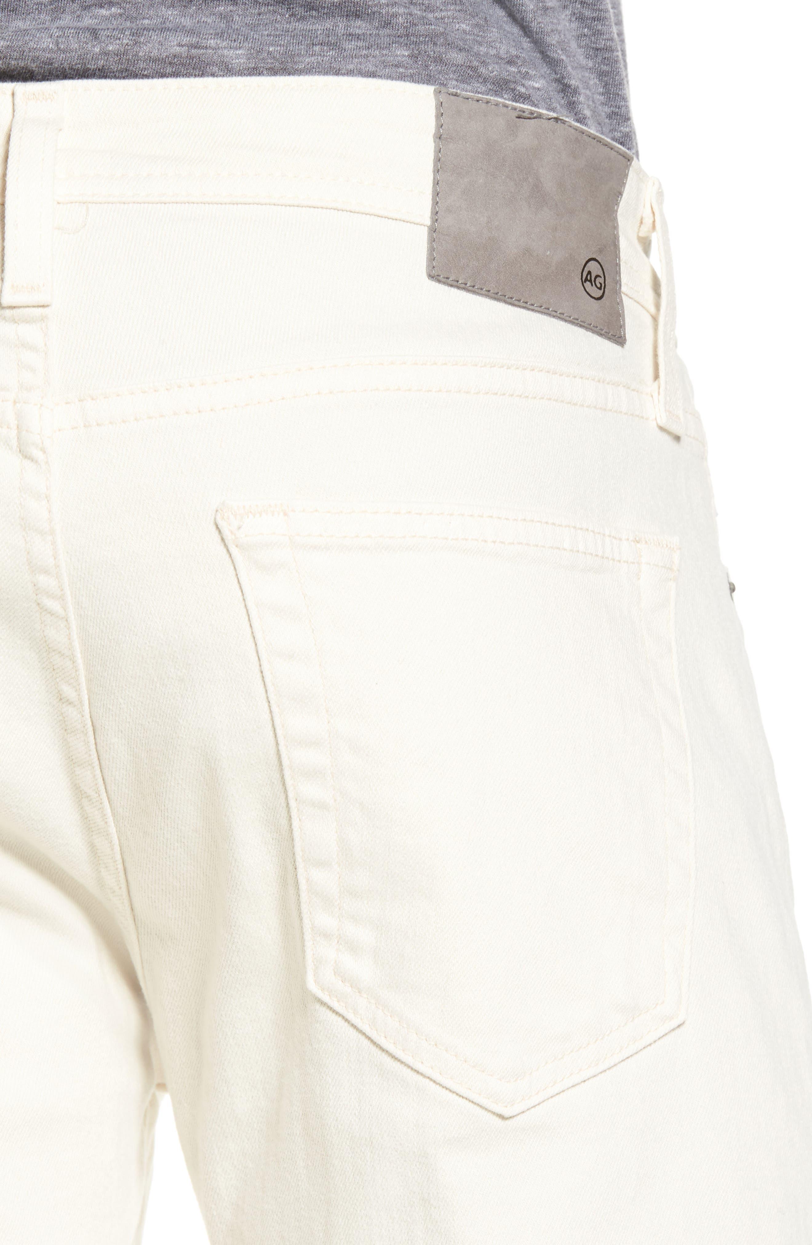 Tellis Modern Slim Twill Pants,                             Alternate thumbnail 4, color,                             020