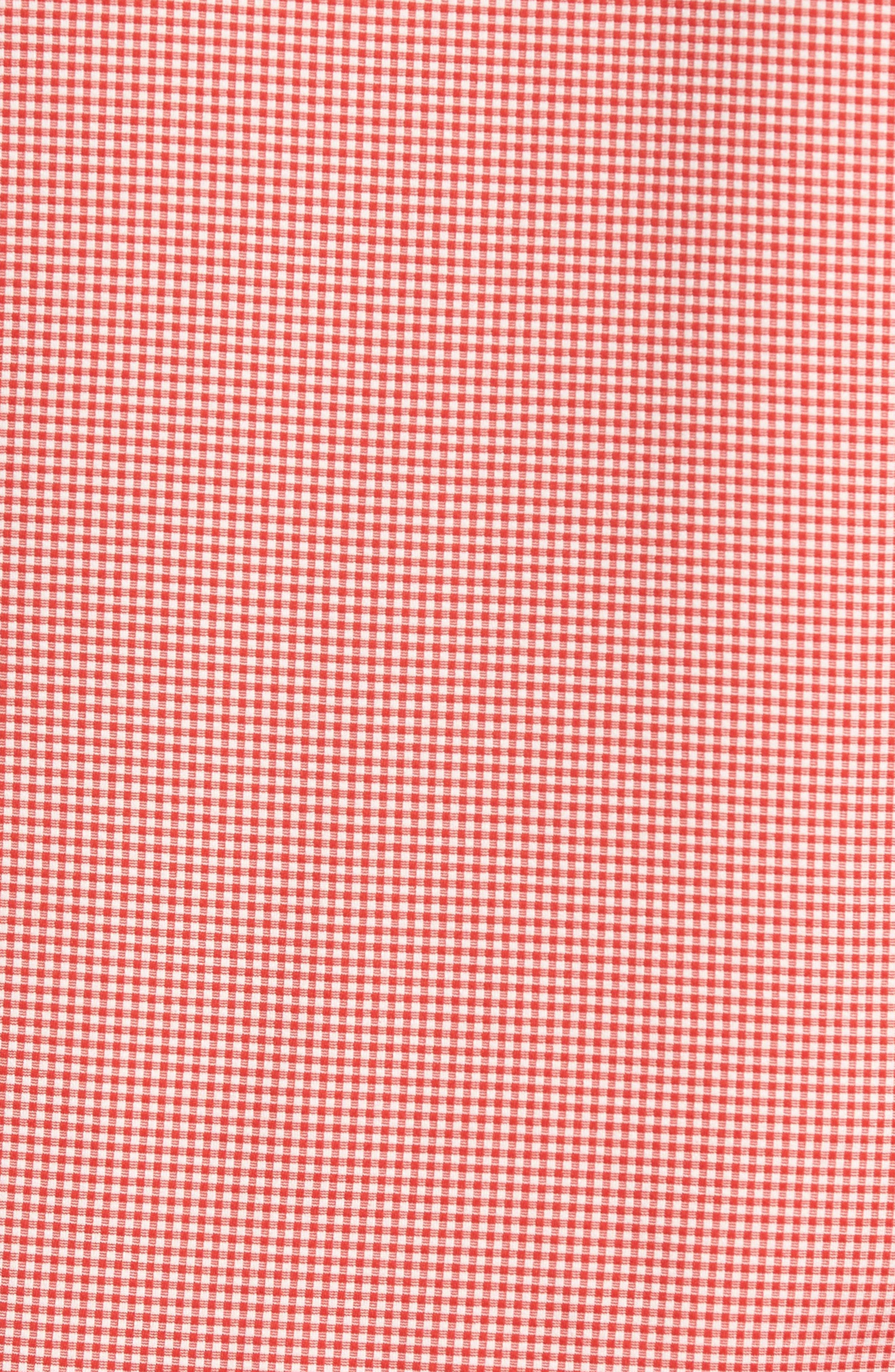 MIZZEN+MAIN,                             Hawthorne Gingham Sport Shirt,                             Alternate thumbnail 5, color,                             600