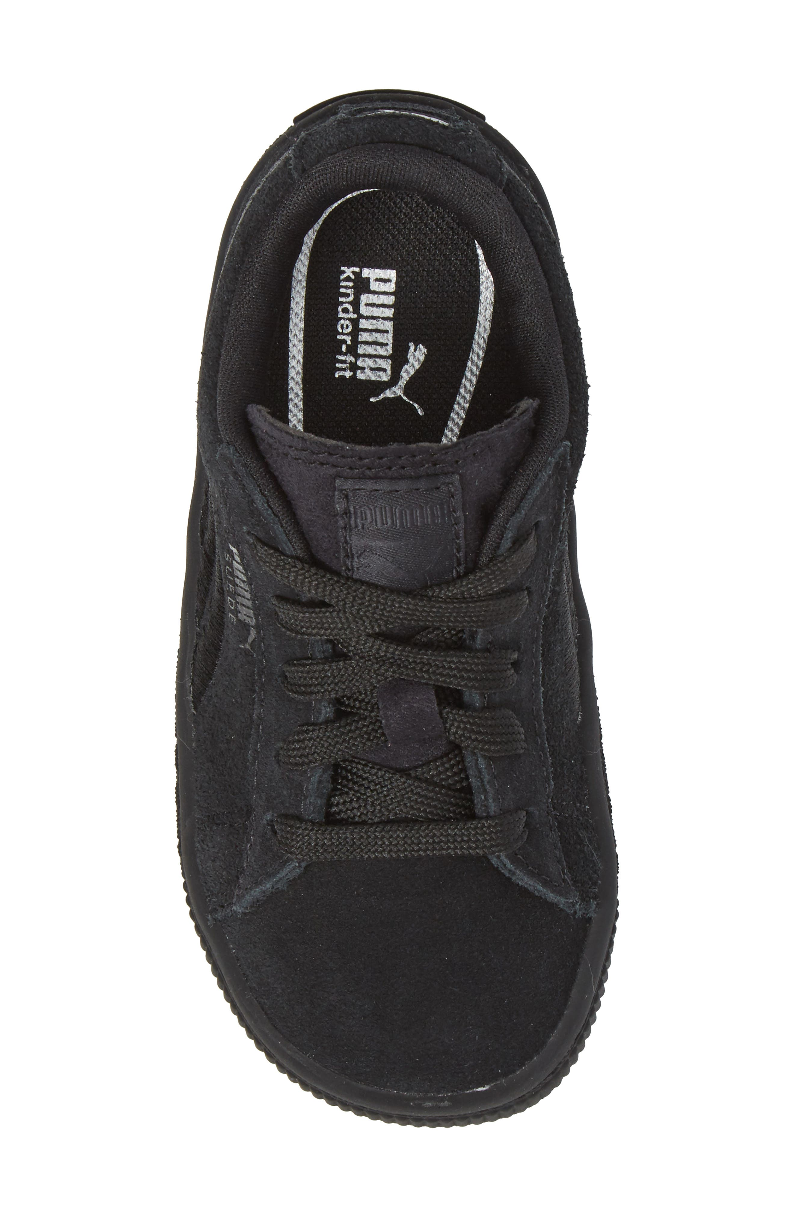 Suede Classic Sneaker,                             Alternate thumbnail 5, color,                             001