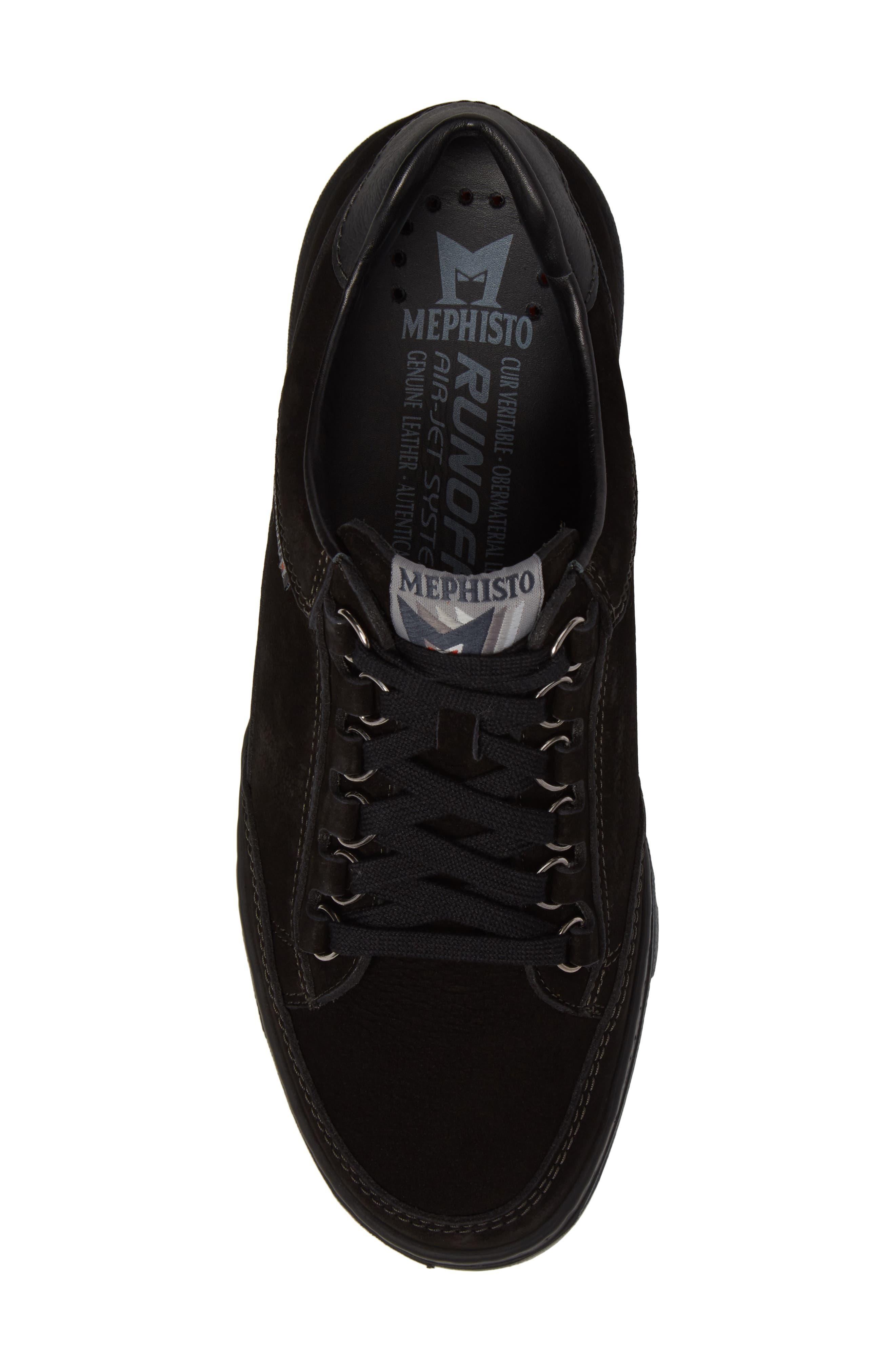 Mick Sneaker,                             Alternate thumbnail 5, color,                             BLACK SPORTBUCK