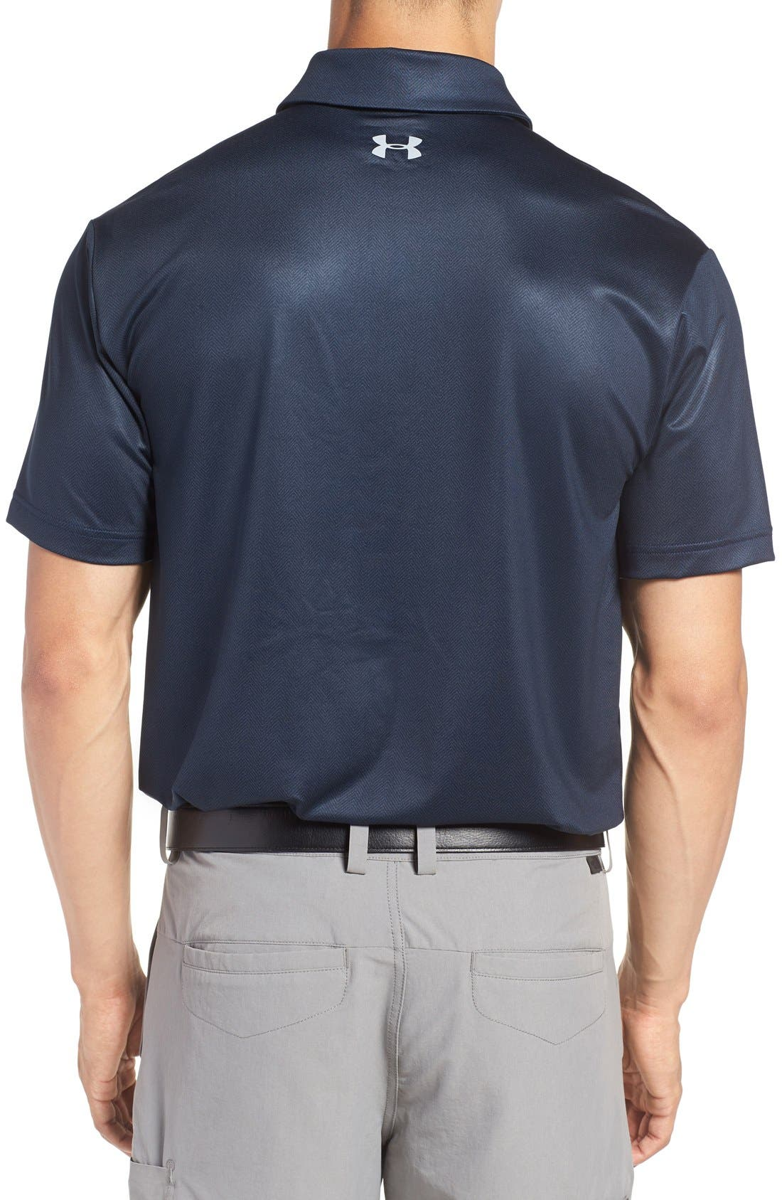 'Playoff' Loose Fit Short Sleeve Polo,                             Alternate thumbnail 148, color,
