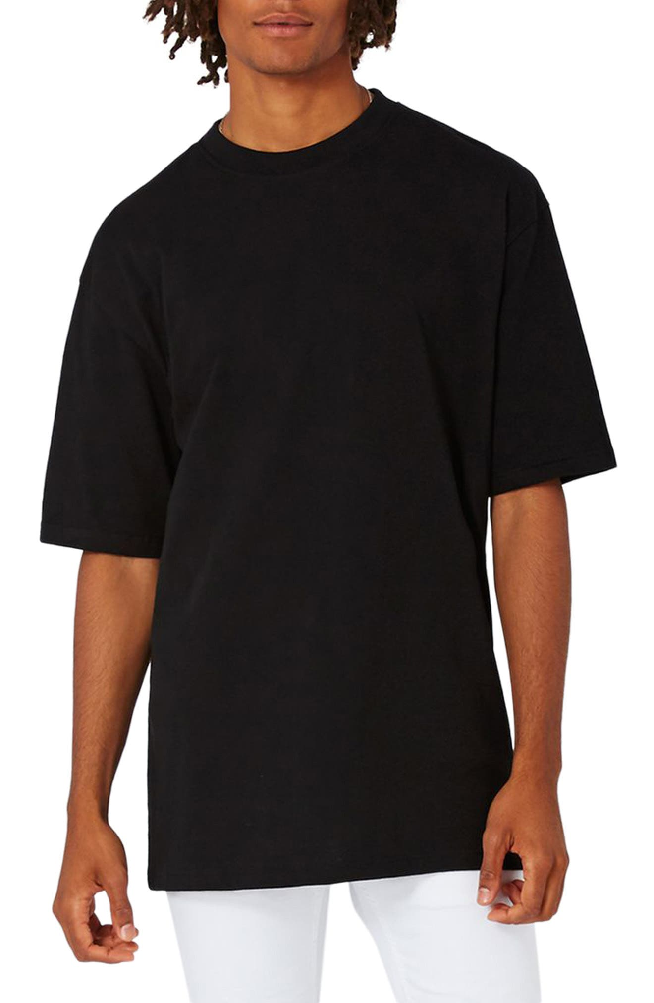 Oversize T-Shirt,                             Main thumbnail 1, color,                             001