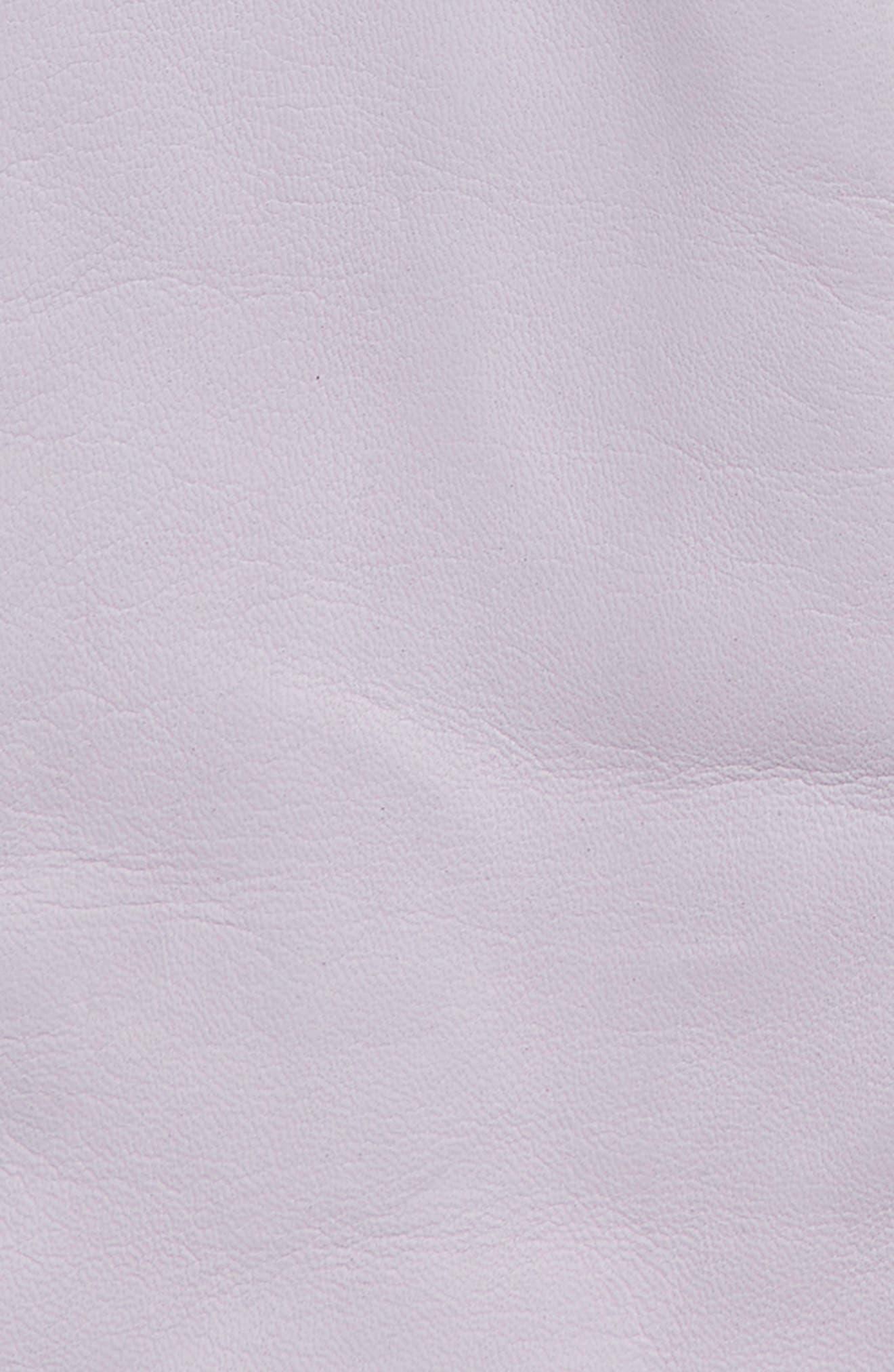 x Atlantic-Pacific Cashmere Lined Leather Gloves,                             Alternate thumbnail 2, color,                             PURPLE SECRET