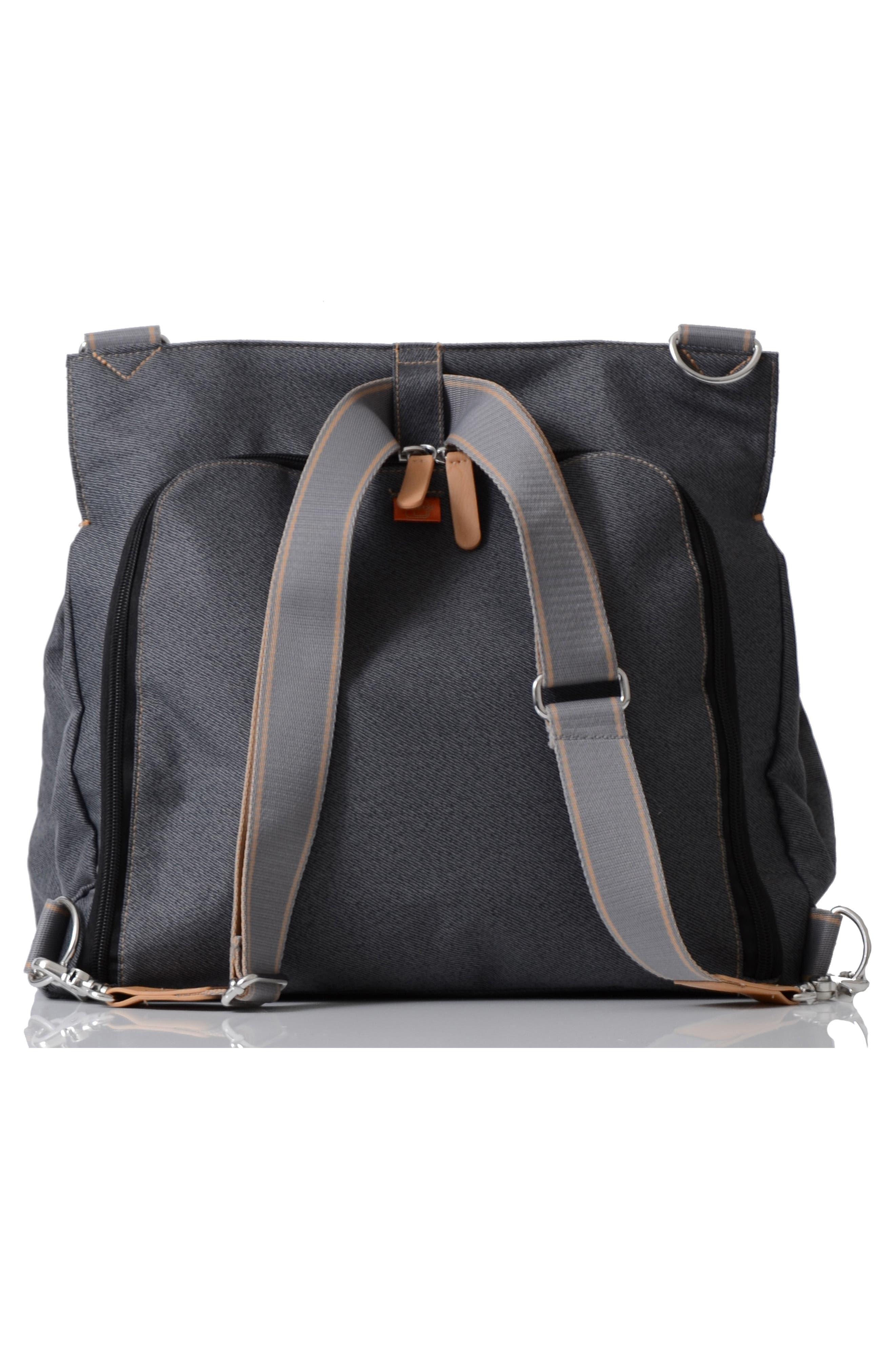 'Oban' Diaper Bag,                             Alternate thumbnail 2, color,                             BLACK CHARCOAL