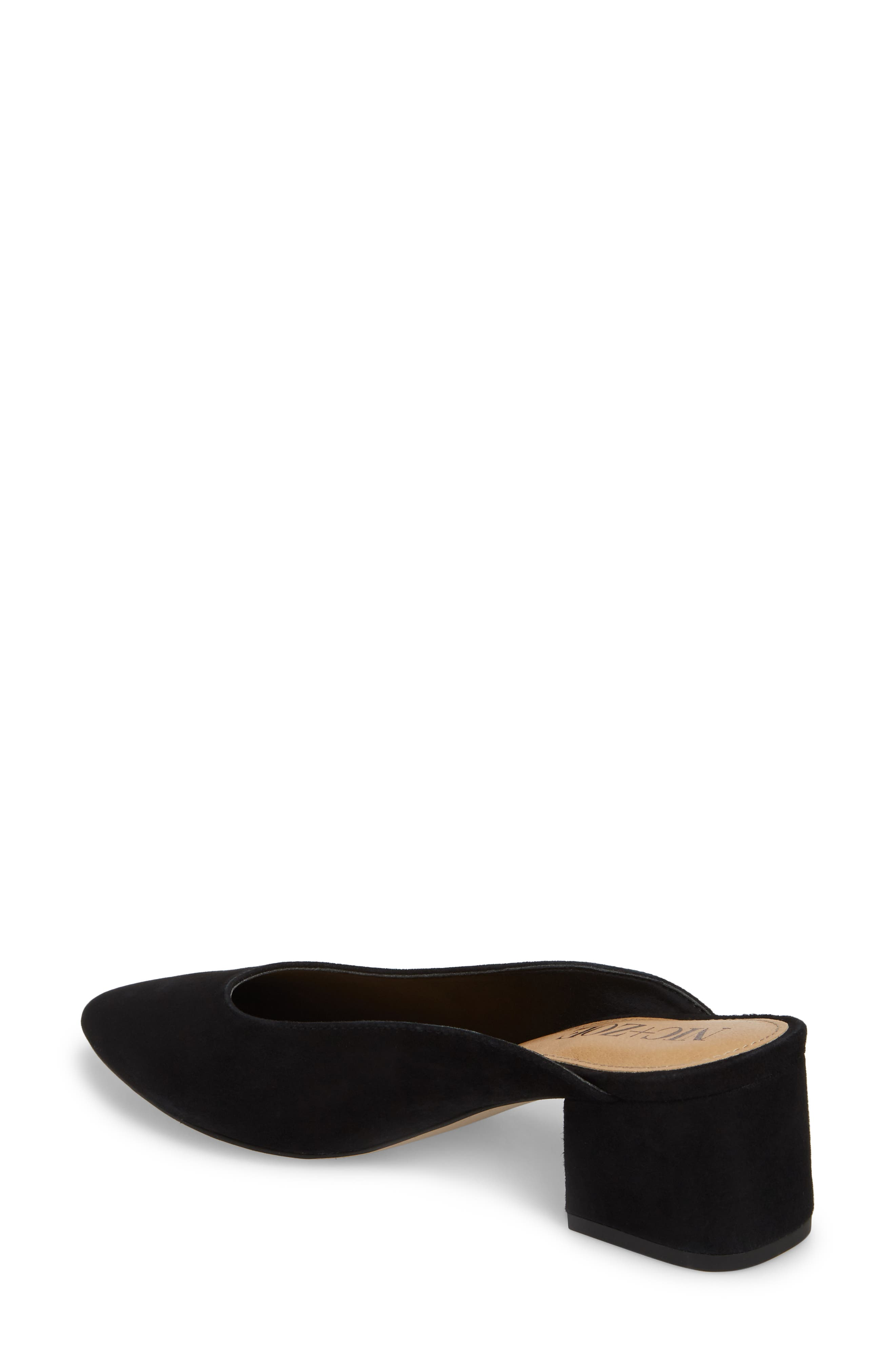 Jayla Mule,                             Alternate thumbnail 2, color,                             BLACK SUEDE