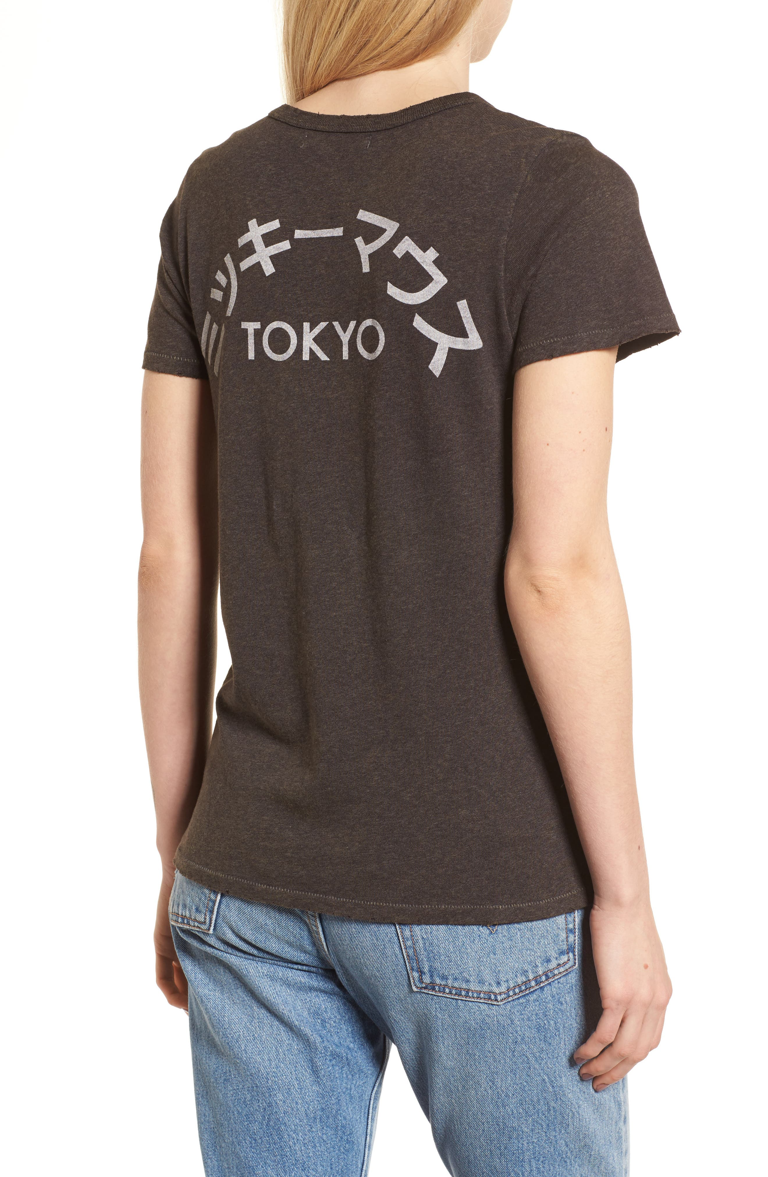 Disney<sup>®</sup> Mickey Mouse - Japan Tee,                             Alternate thumbnail 2, color,                             004