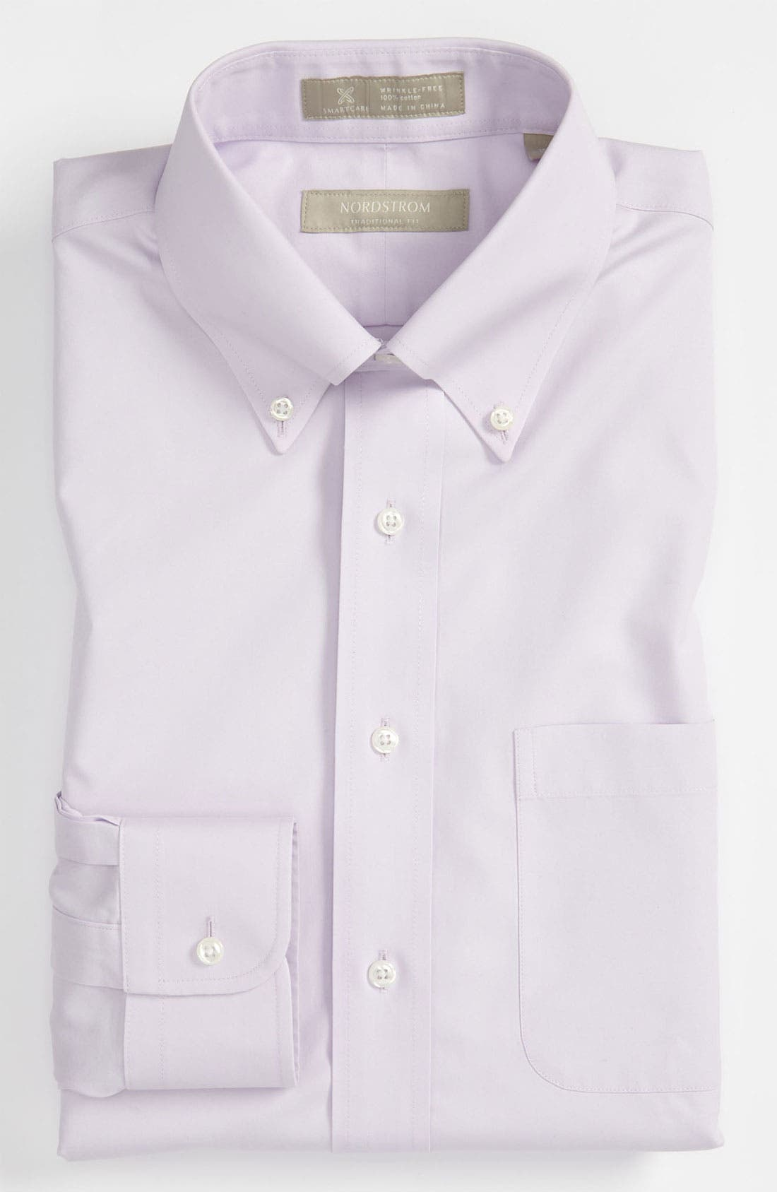 Smartcare<sup>™</sup> Traditional Fit Pinpoint Dress Shirt,                             Main thumbnail 28, color,