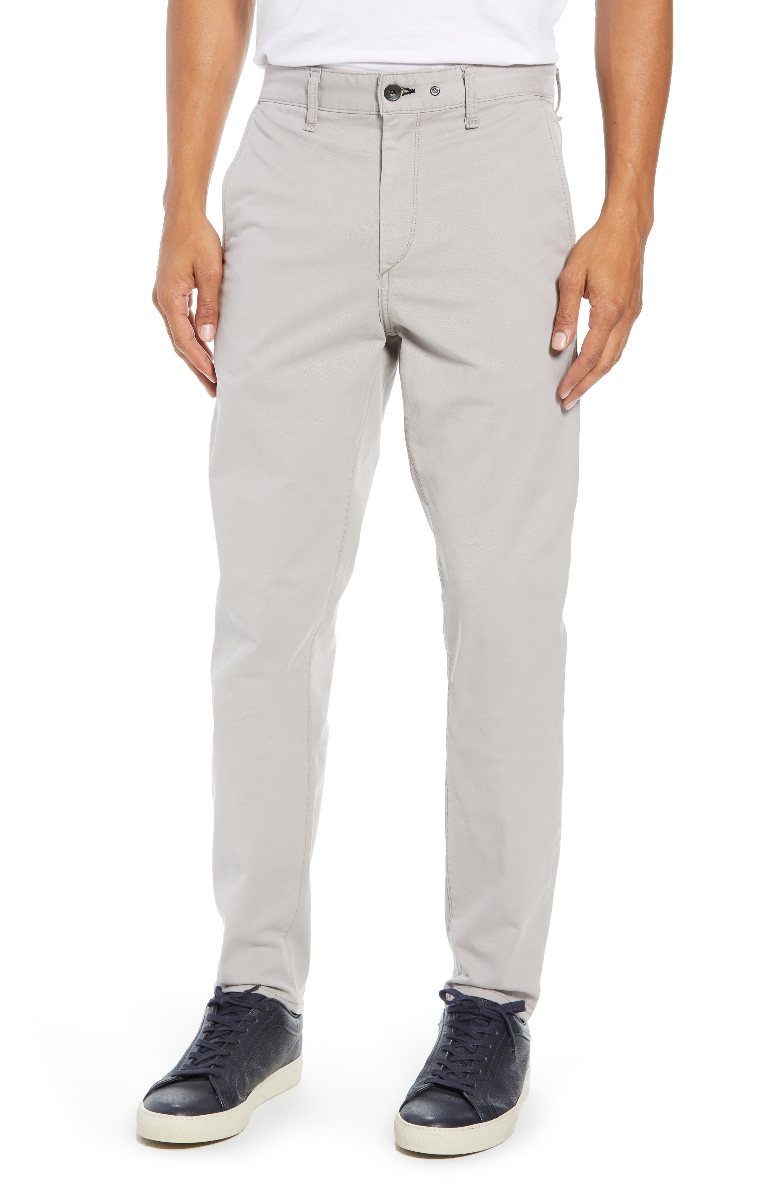 Fit 2 Classic Chinos,                             Main thumbnail 1, color,                             LIGHT GREY