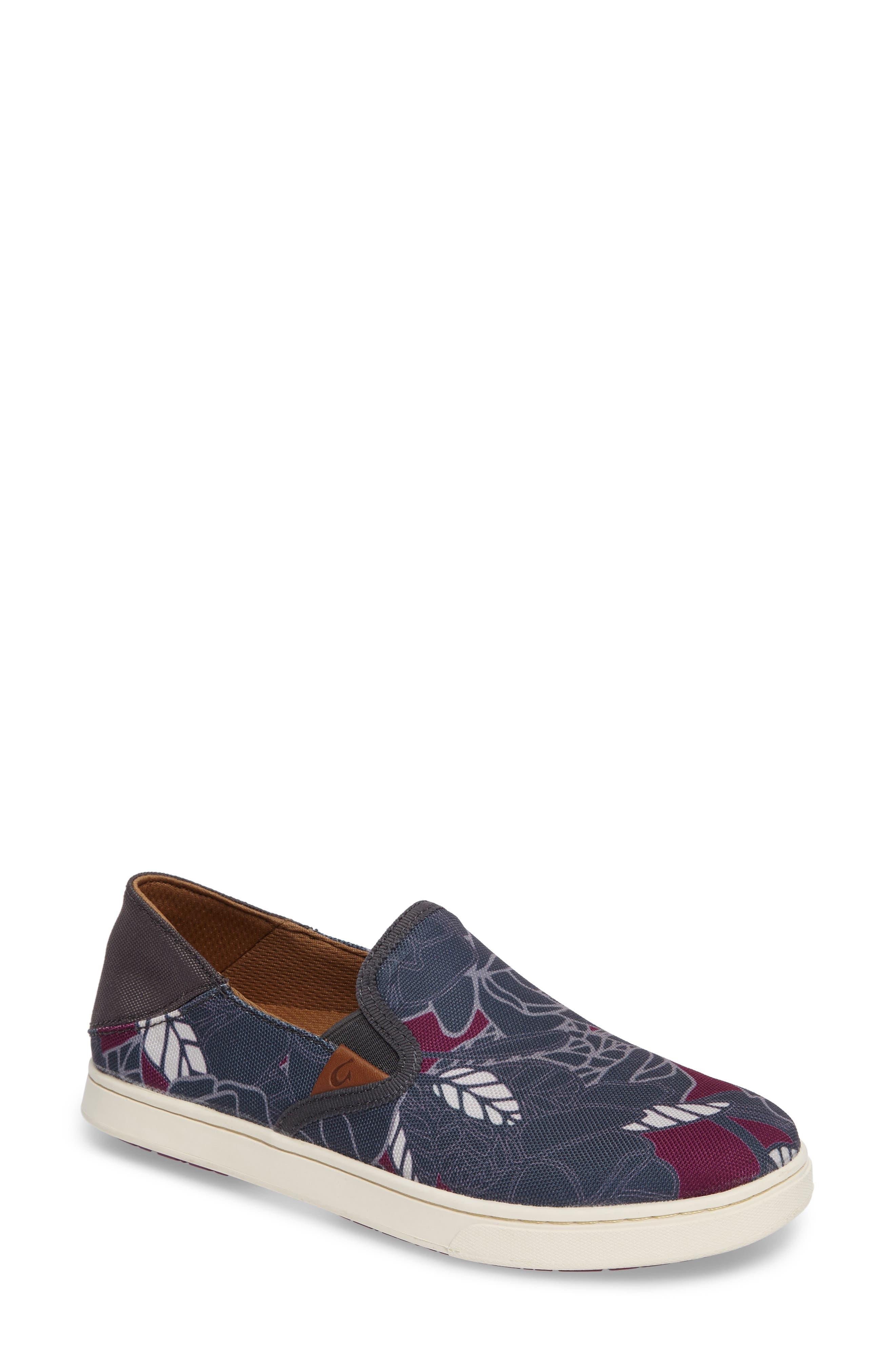 Pehuea Print Slip-On Sneaker,                             Main thumbnail 1, color,                             027