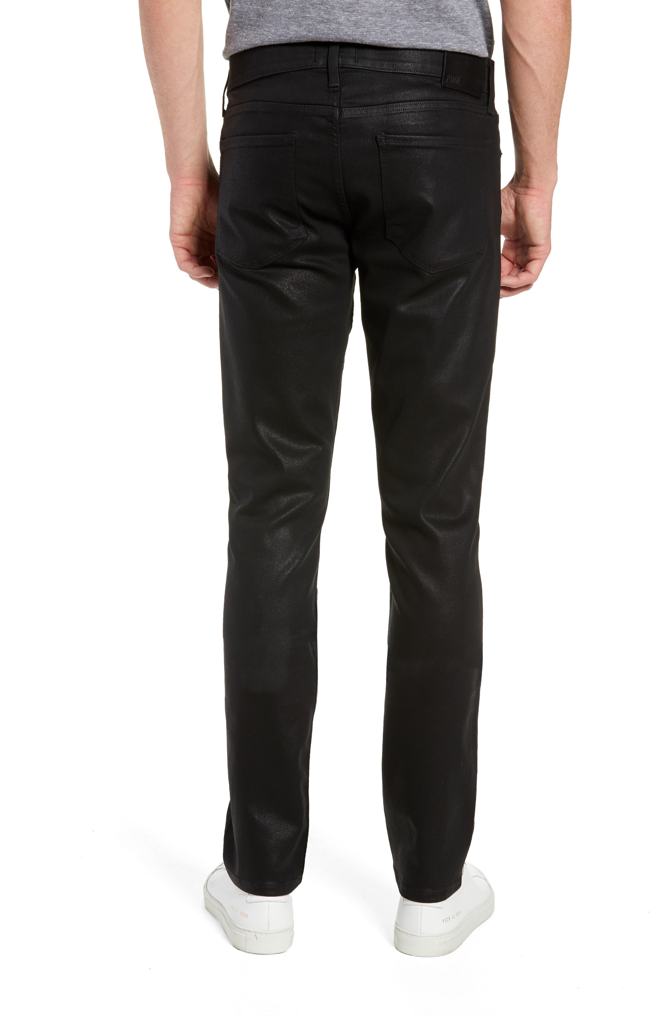 Transcend - Lennox Slim Fit Jeans,                             Alternate thumbnail 2, color,                             WILKS COATED
