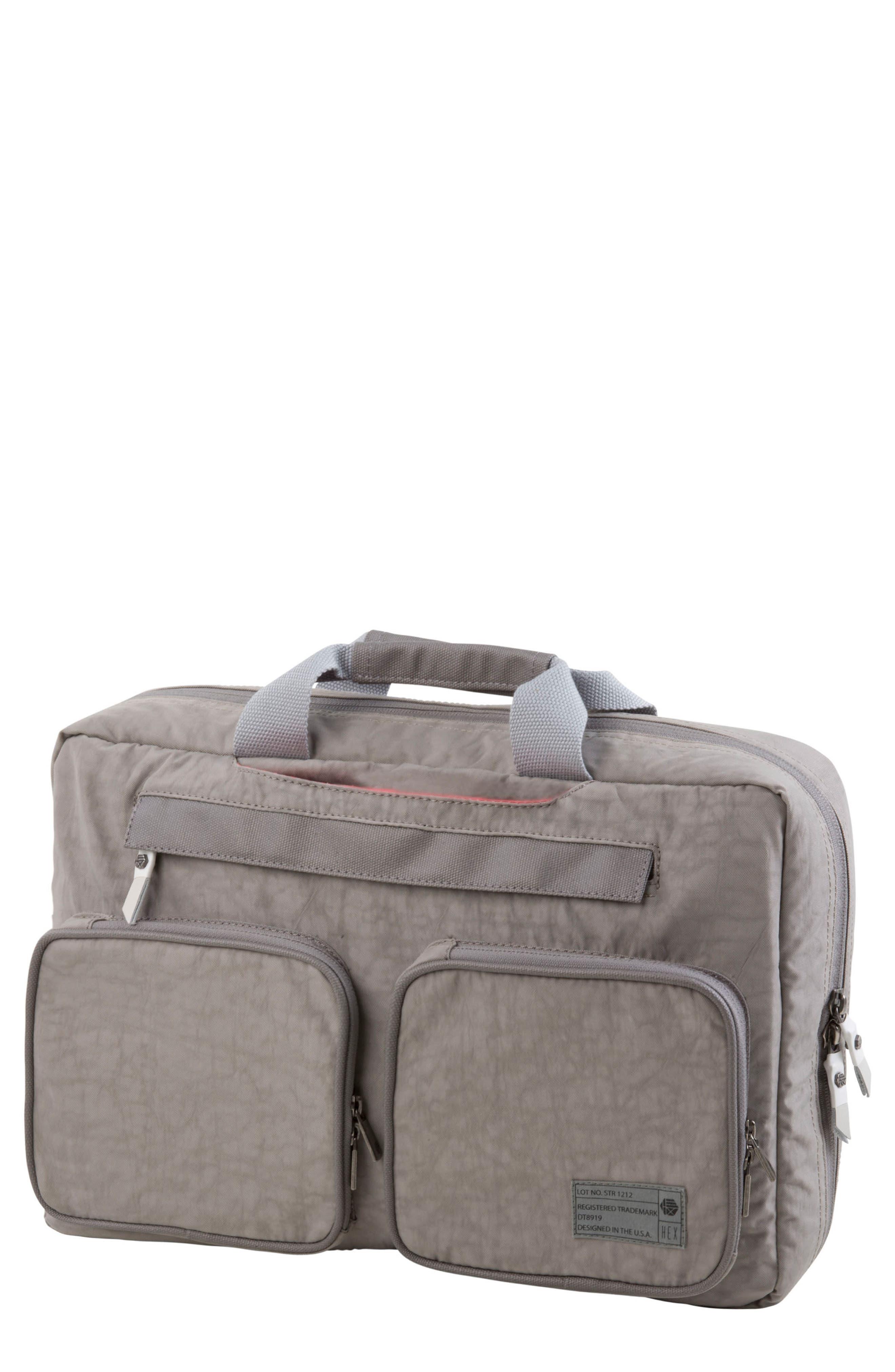 Radar Convertible Water Resistant Briefcase,                         Main,                         color,
